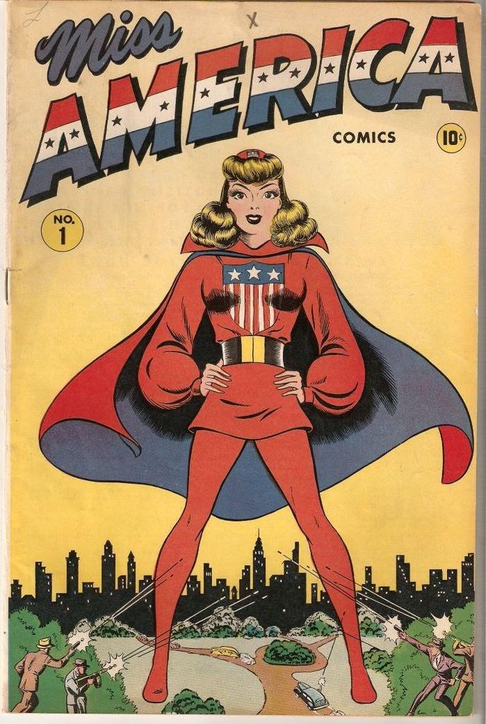 Miss America Comics 1 Page 1