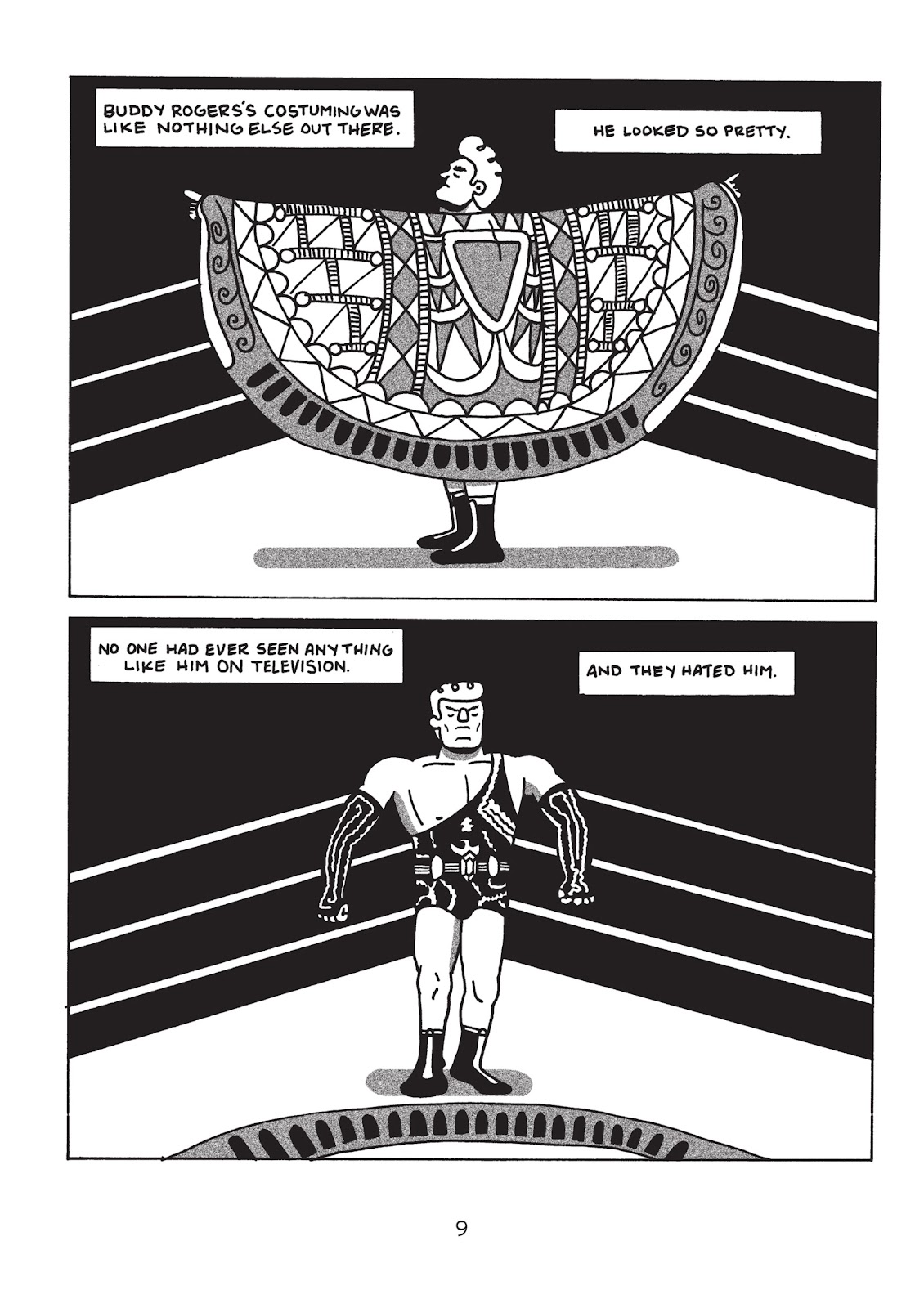 Read online Is This Guy For Real?: The Unbelievable Andy Kaufman comic -  Issue # TPB (Part 1) - 14