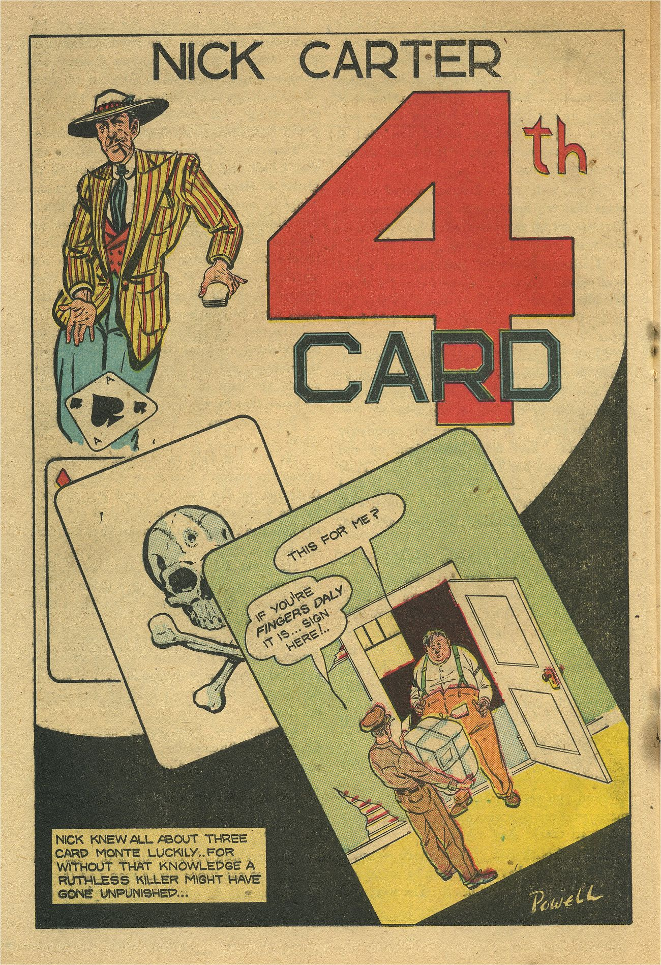 Read online Shadow Comics comic -  Issue #93 - 33