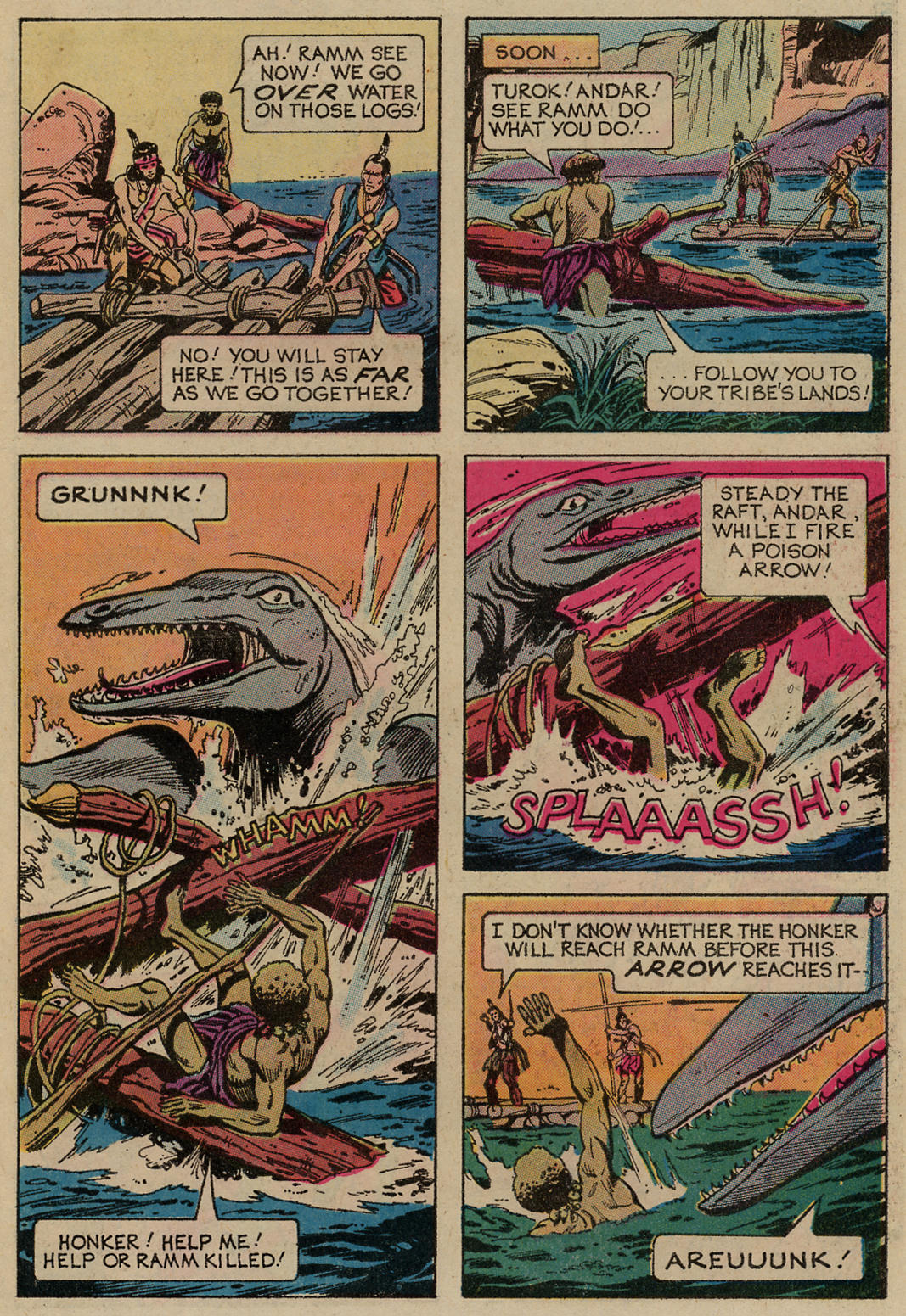 Read online Turok, Son of Stone comic -  Issue #98 - 21