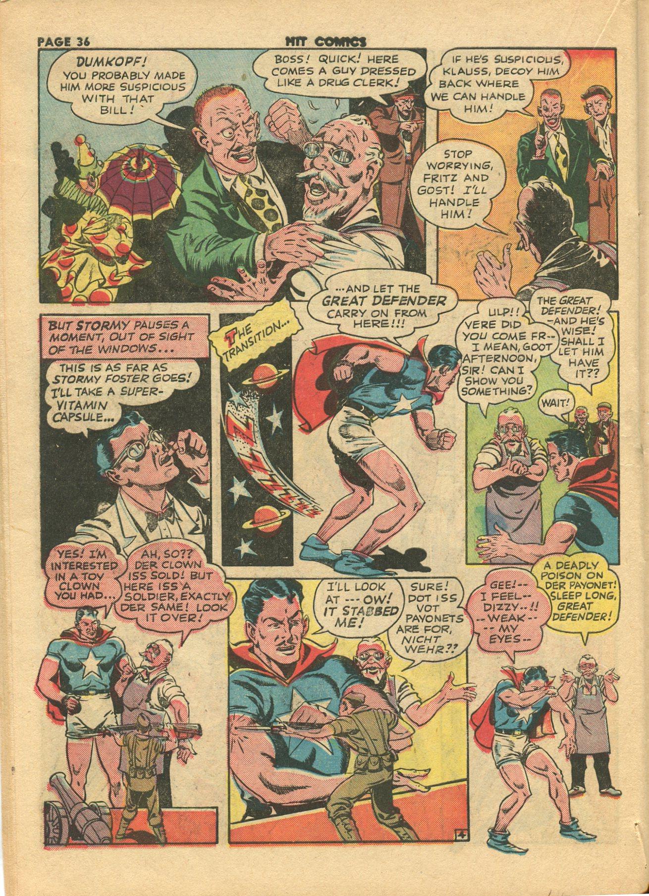 Read online Hit Comics comic -  Issue #28 - 39