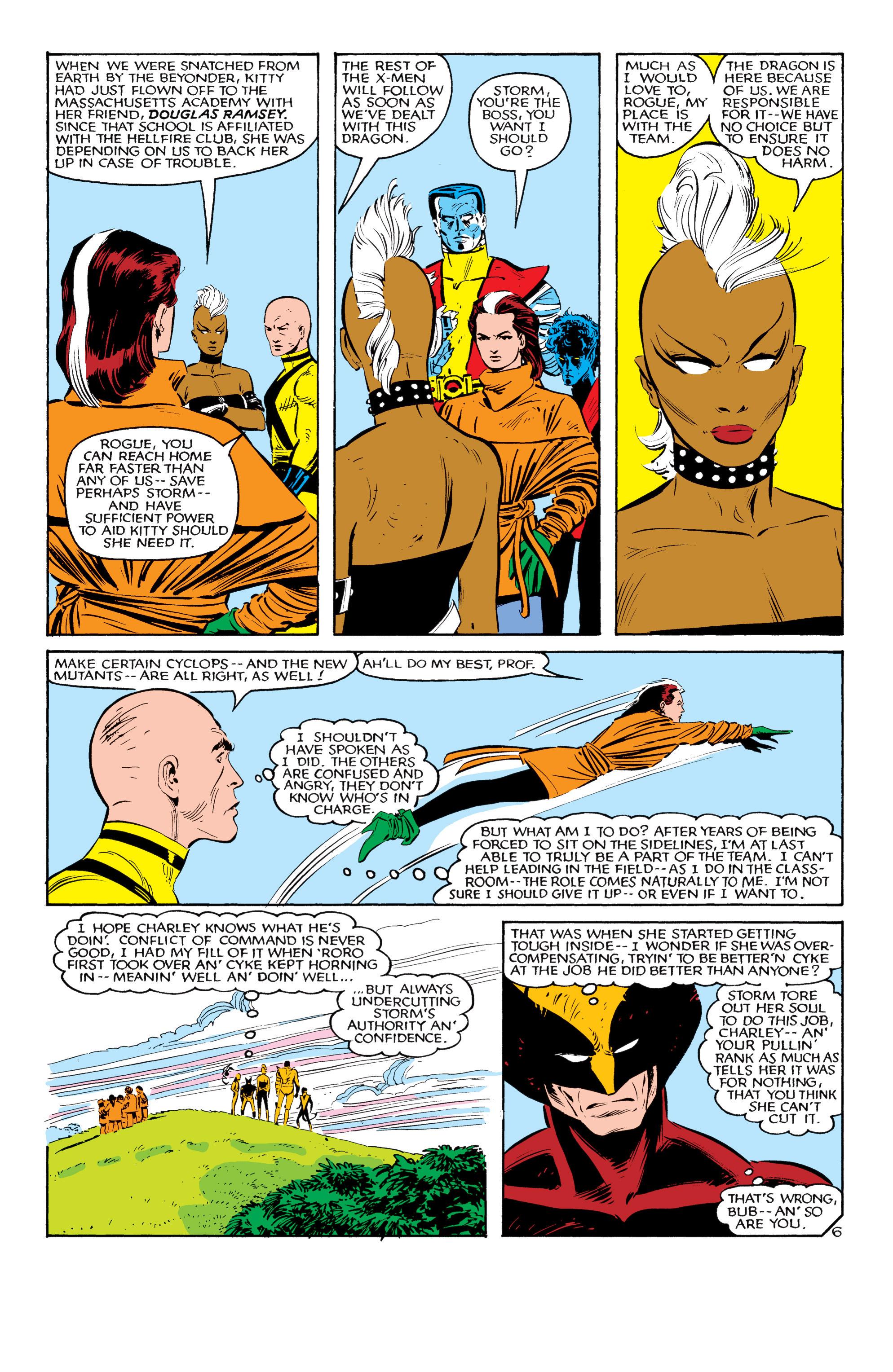 Read online Uncanny X-Men (1963) comic -  Issue #181 - 6
