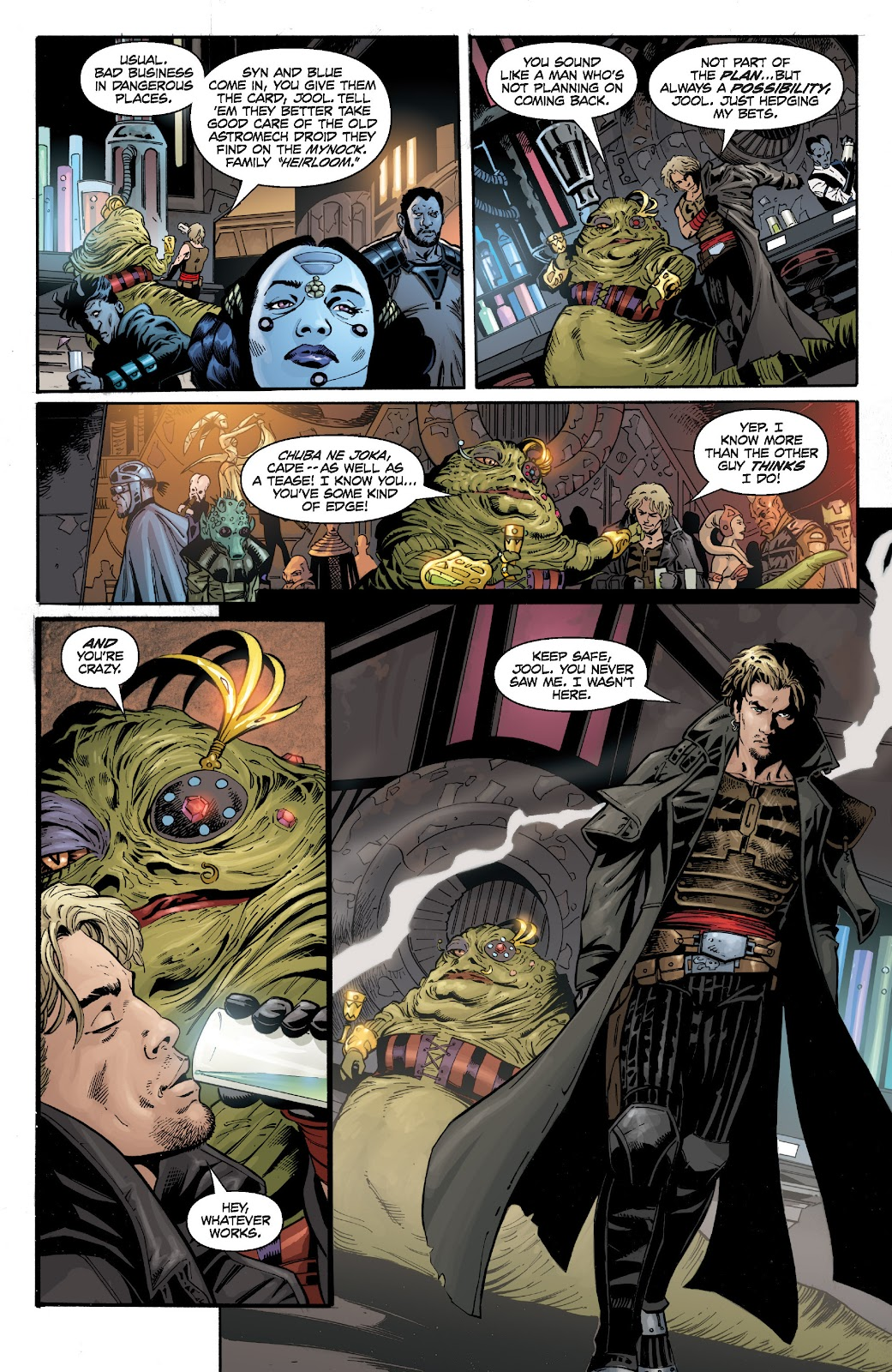 Read online Star Wars Legends: Legacy - Epic Collection comic -  Issue # TPB 1 (Part 4) - 31
