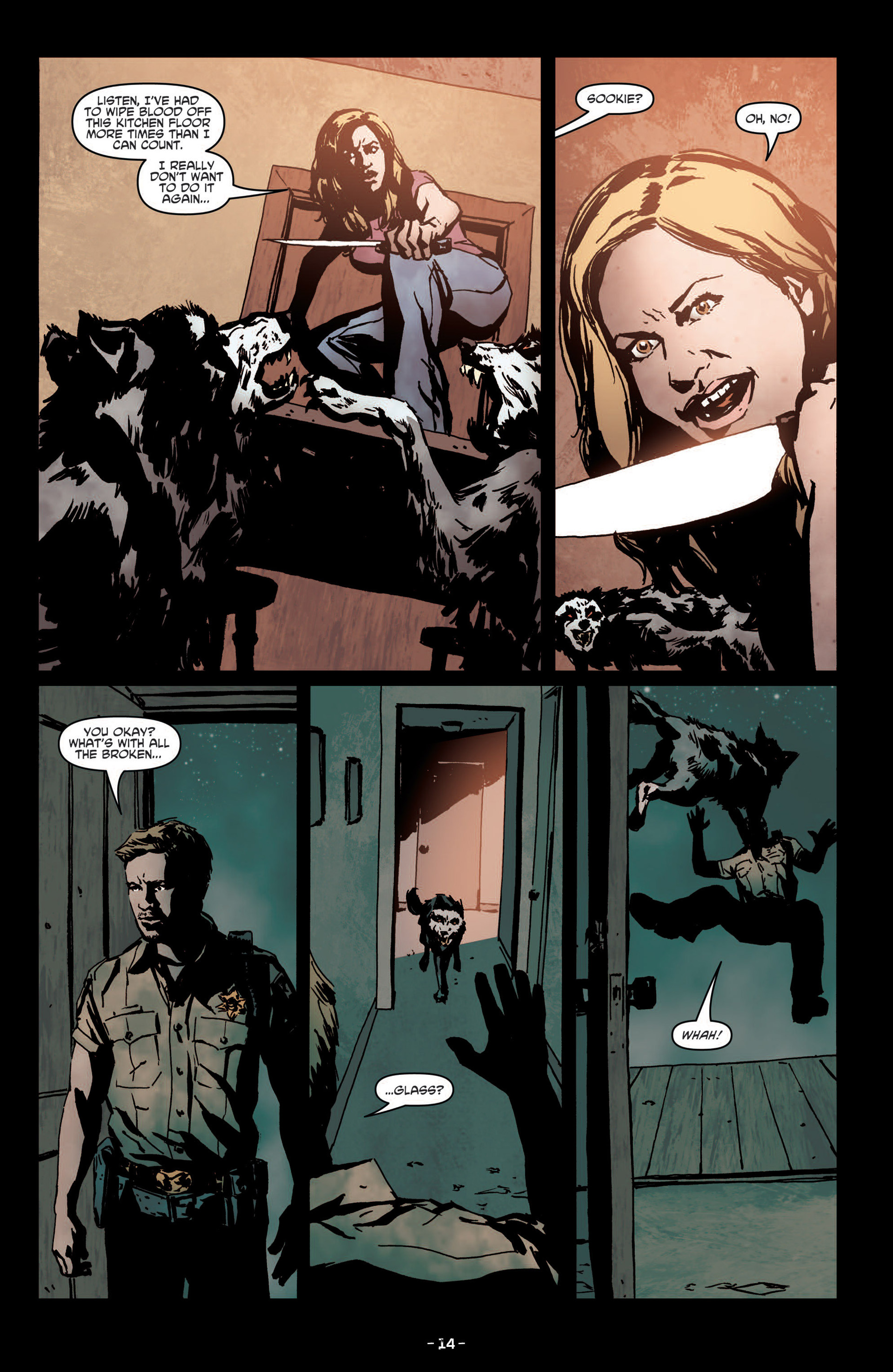 Read online True Blood (2012) comic -  Issue #7 - 16