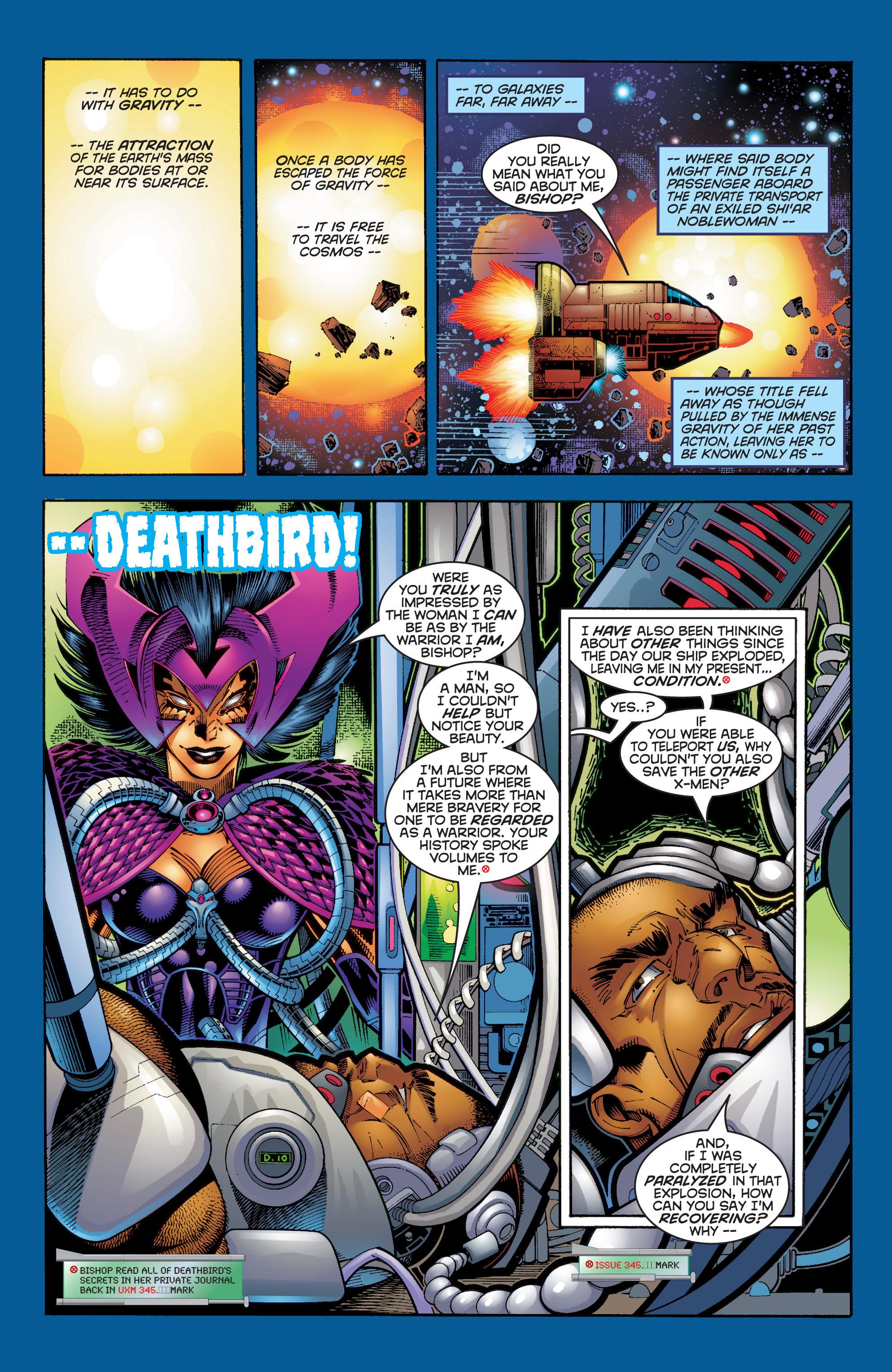 Read online Uncanny X-Men (1963) comic -  Issue #354 - 10