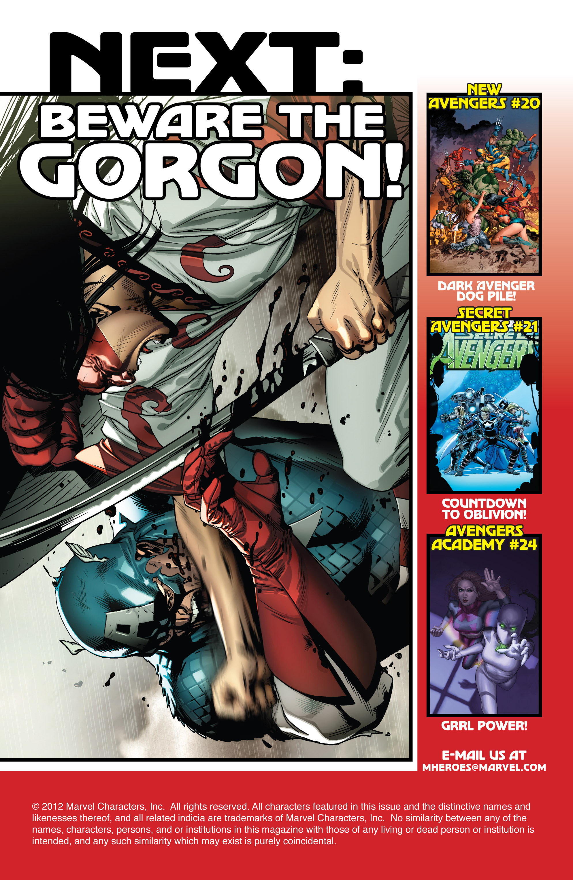 Read online Avengers (2010) comic -  Issue #21 - 21