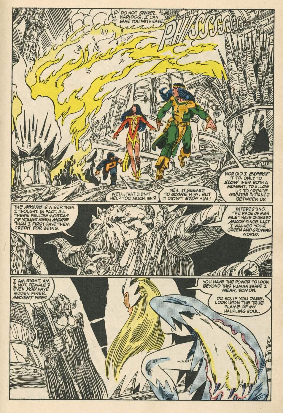 Read online Alpha Flight (1983) comic -  Issue #24 - 21