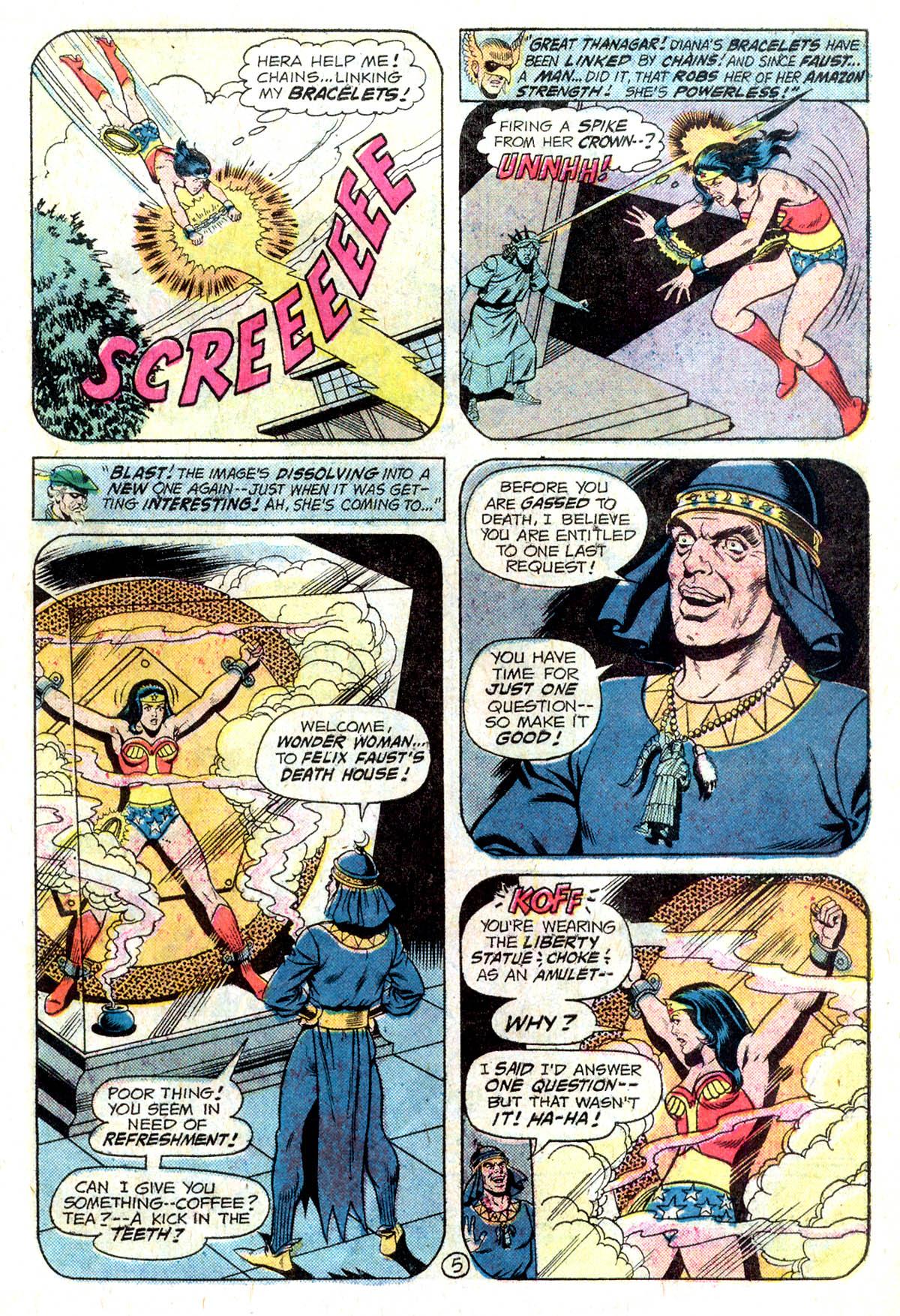 Read online Wonder Woman (1942) comic -  Issue #218 - 17