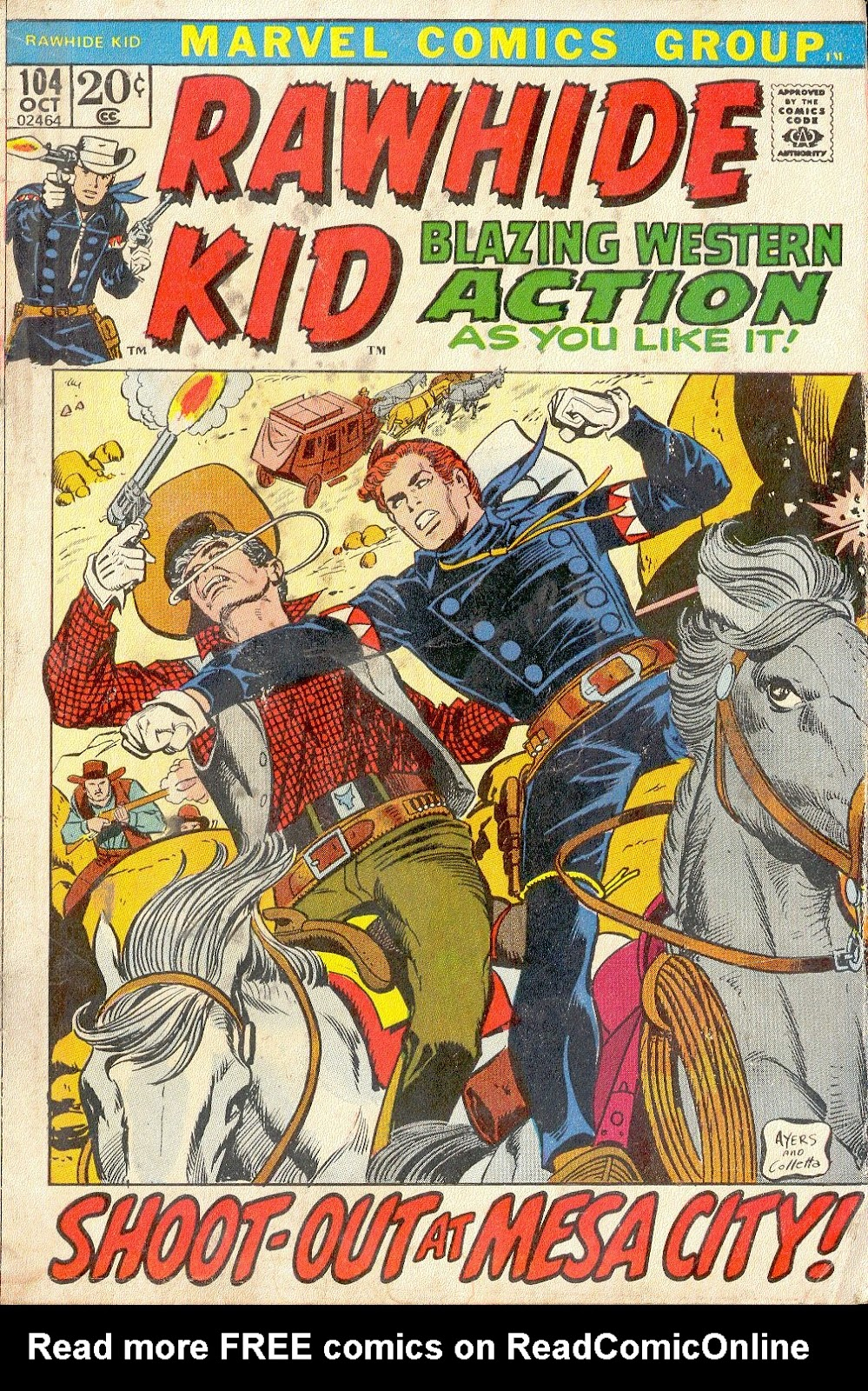 The Rawhide Kid (1955) issue 104 - Page 1