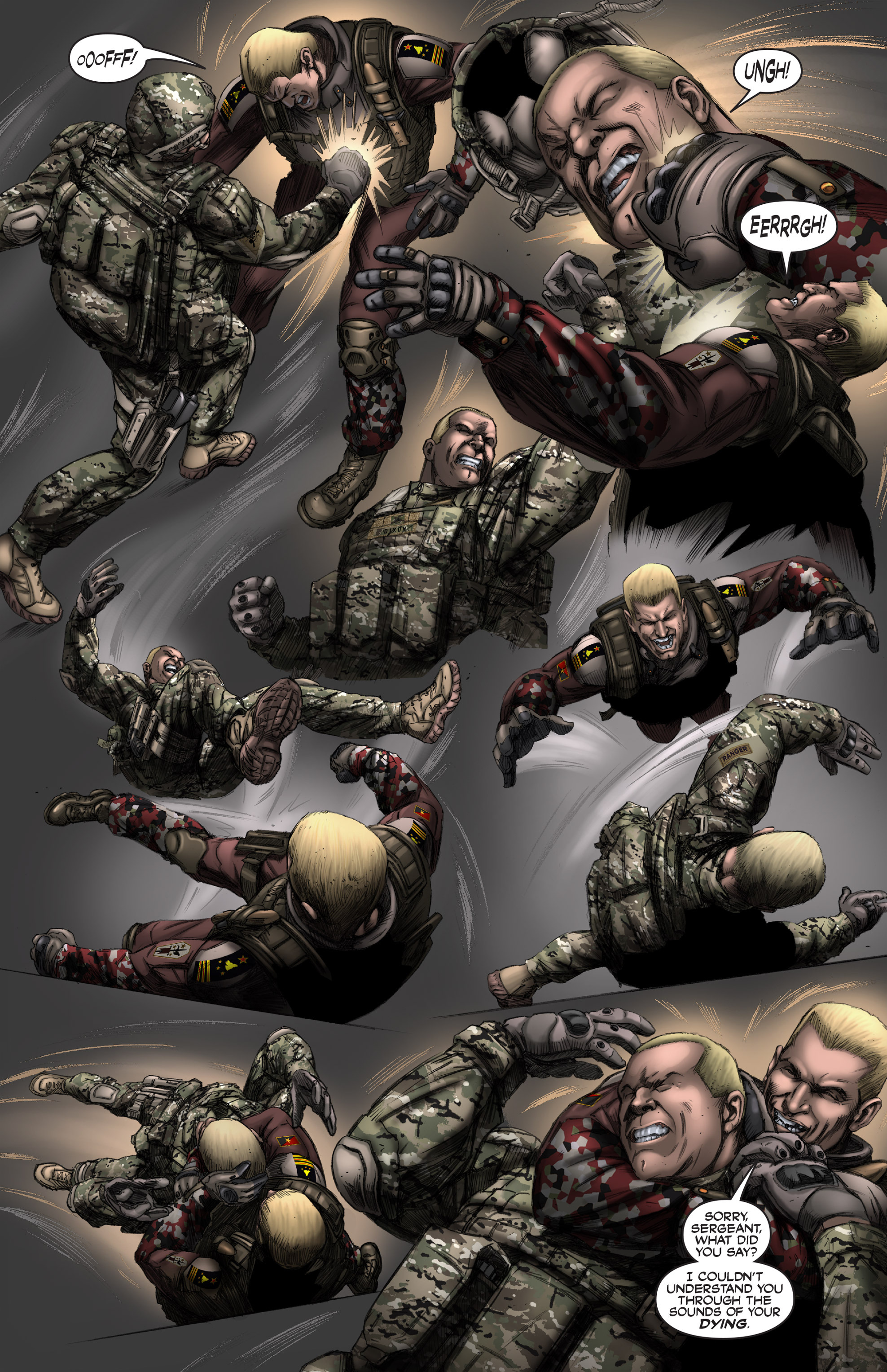 Read online America's Army comic -  Issue #12 - 17