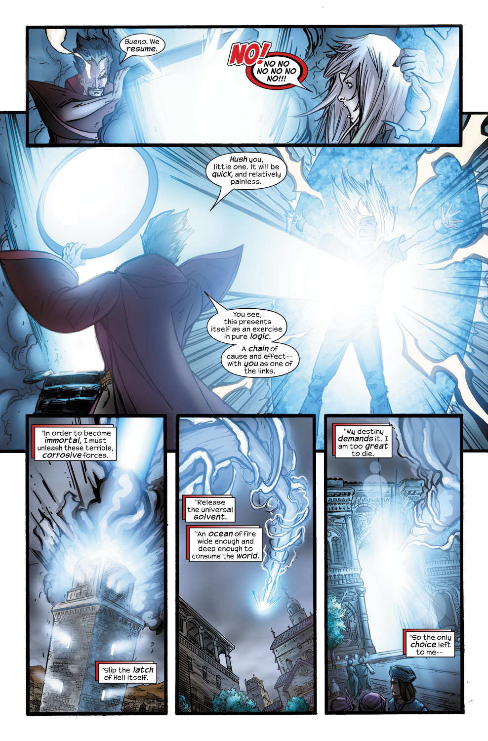 Read online Ultimate Fantastic Four (2004) comic -  Issue #40 - 23