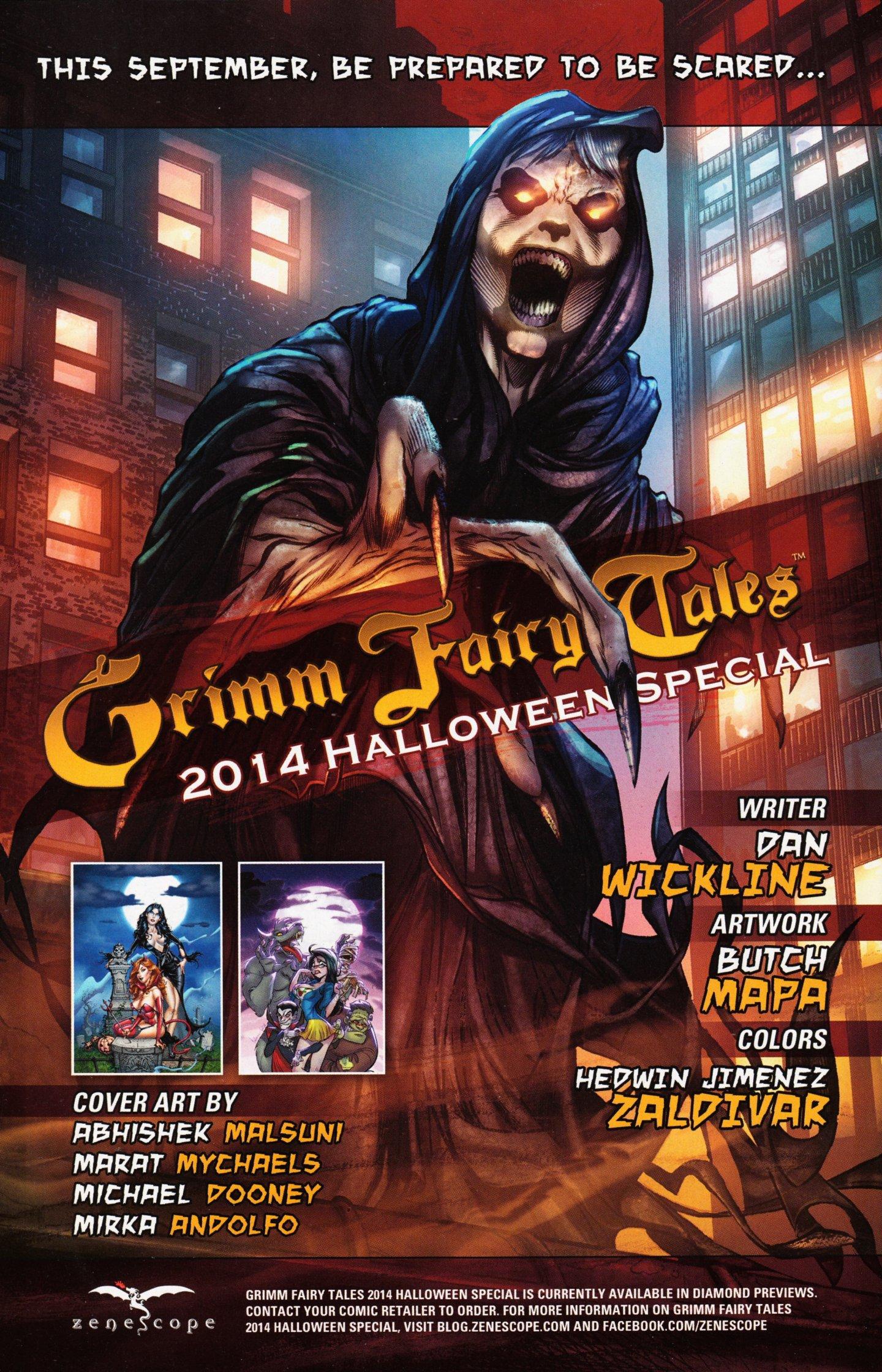Read online Grimm Fairy Tales vs. Wonderland comic -  Issue #3 - 30