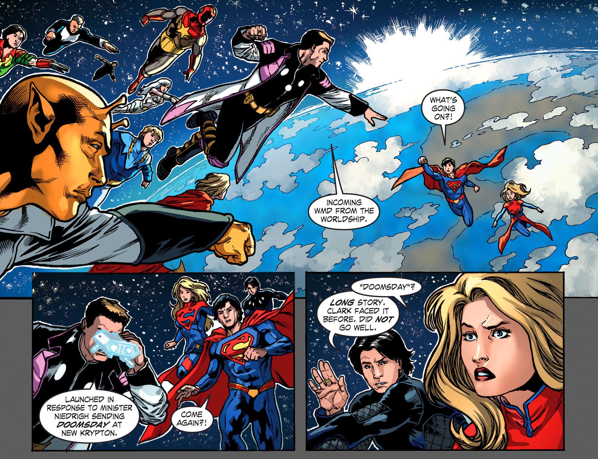 Read online Smallville: Season 11 comic -  Issue #52 - 3
