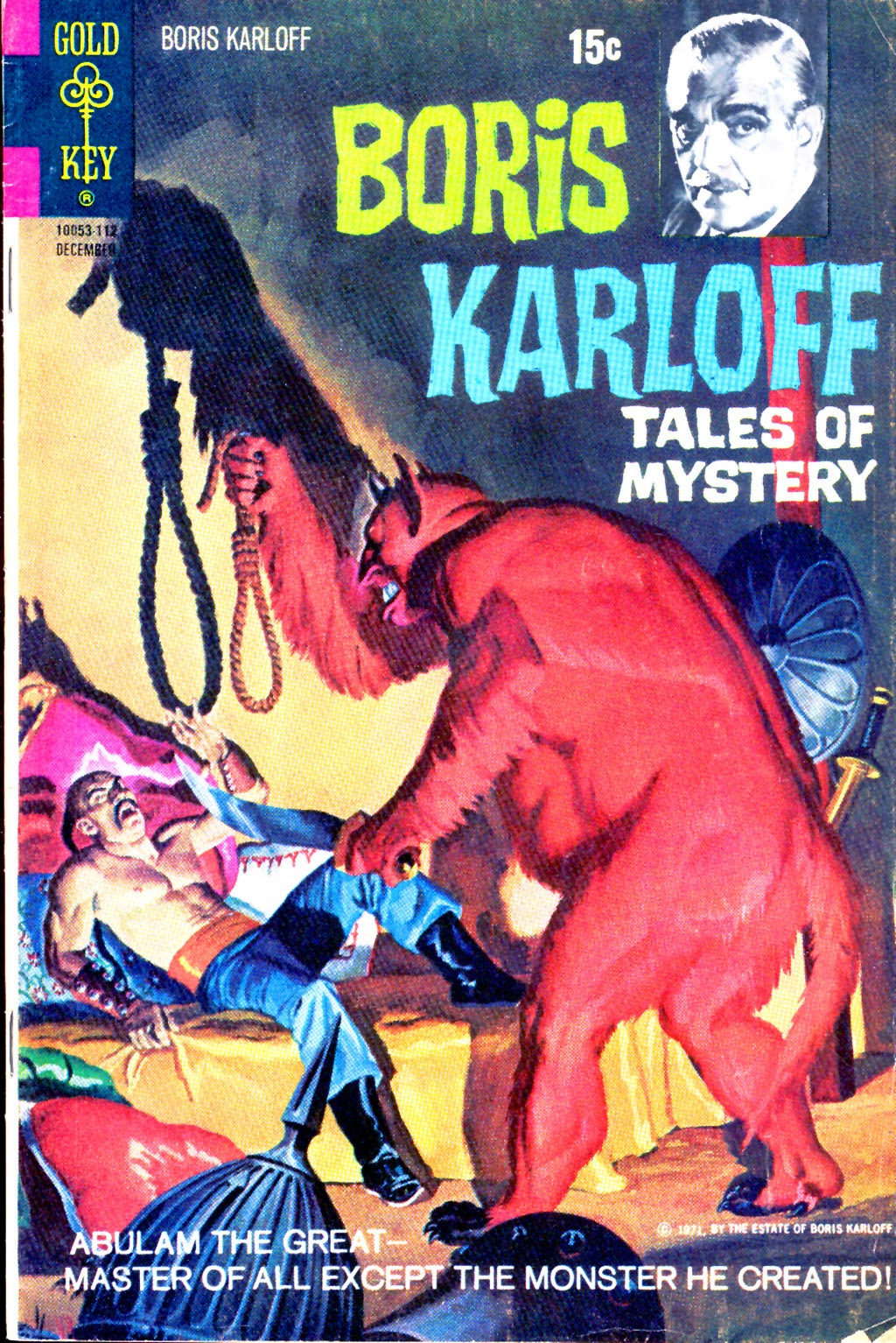 Boris Karloff Tales of Mystery issue 38 - Page 1