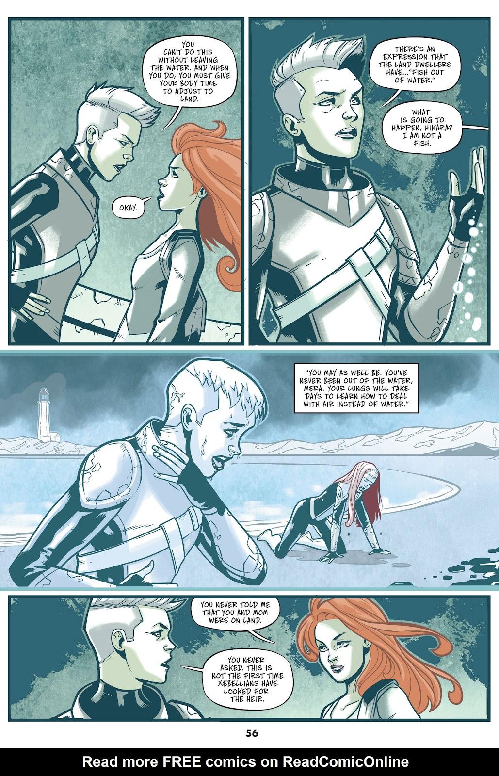 Read online Mera: Tidebreaker comic -  Issue # TPB (Part 1) - 56