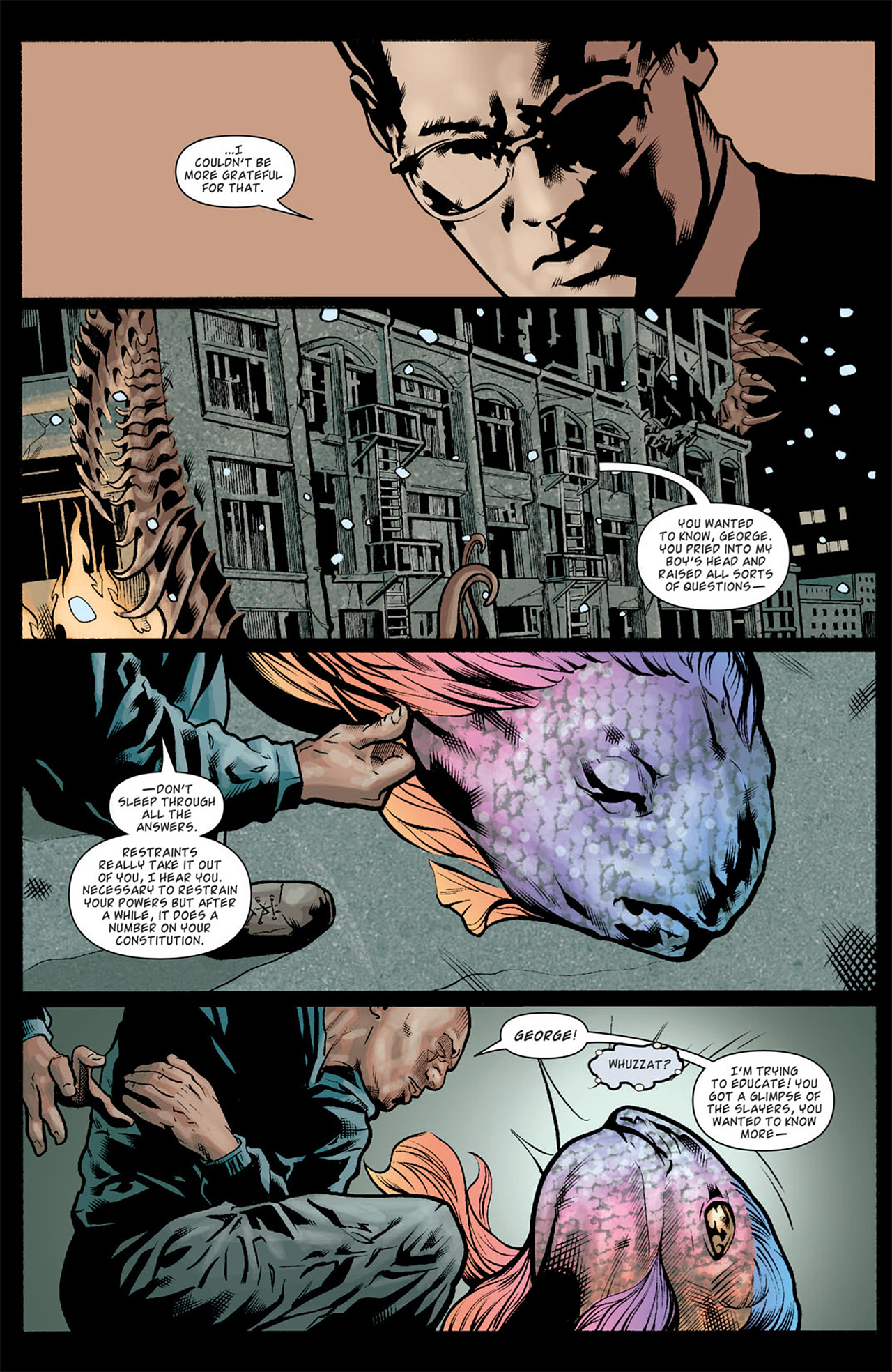 Read online Angel: After The Fall comic -  Issue #10 - 10