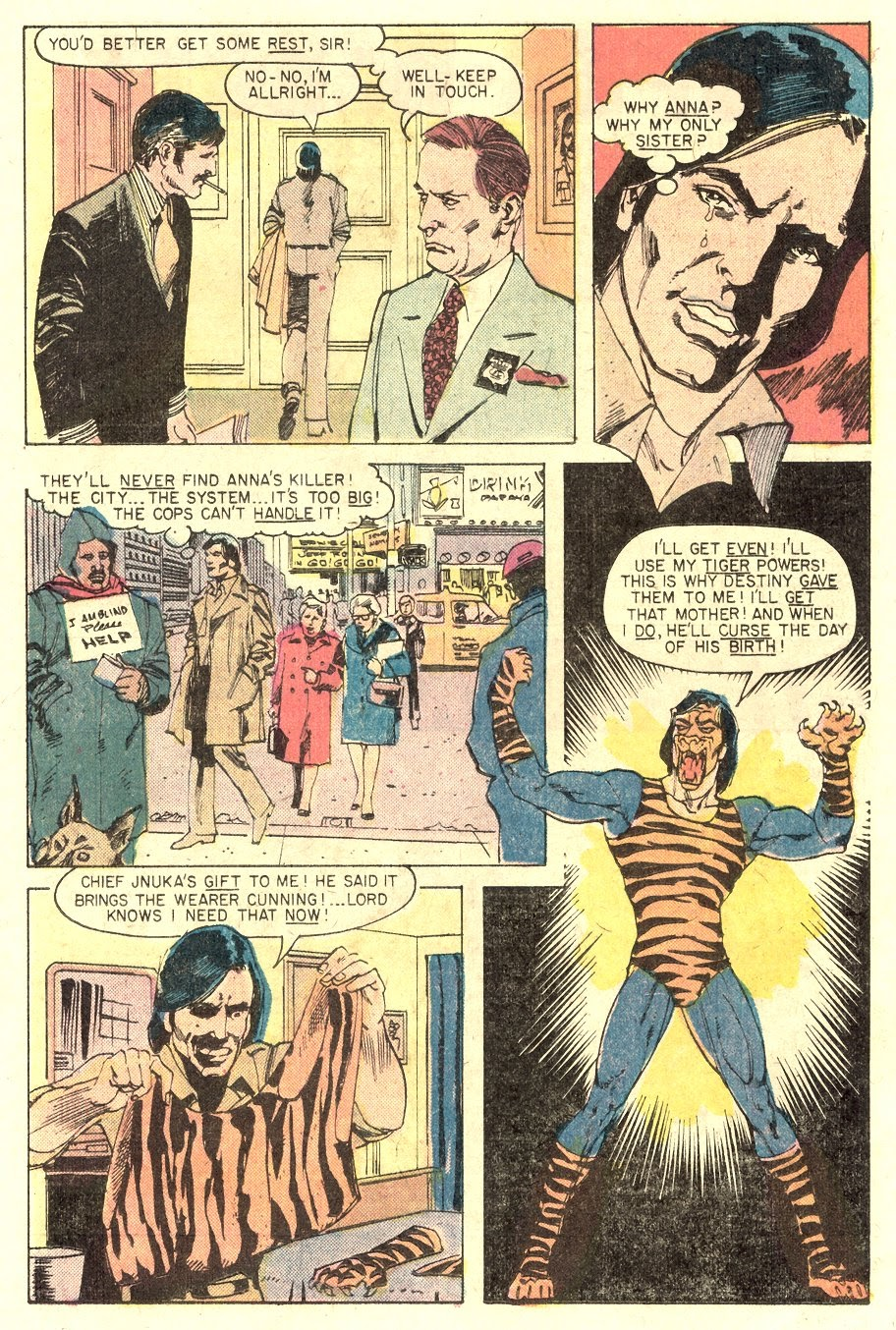 Read online Tiger-Man comic -  Issue #1 - 17
