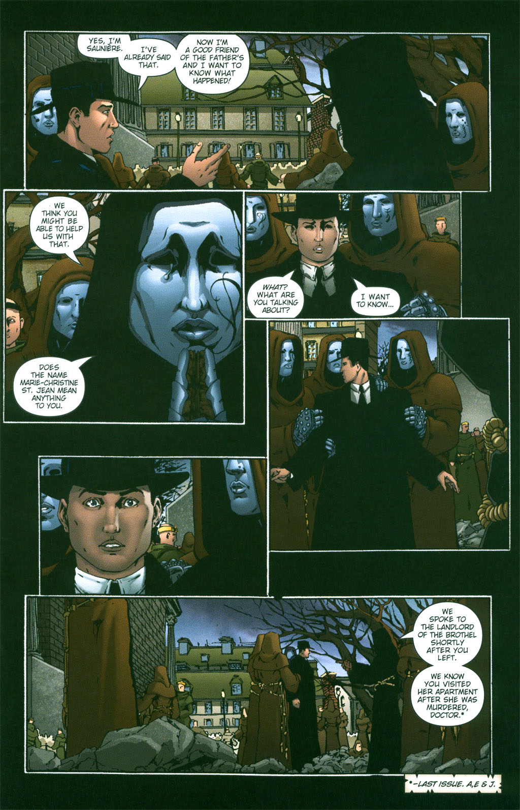 Read online Rex Mundi comic -  Issue #2 - 8