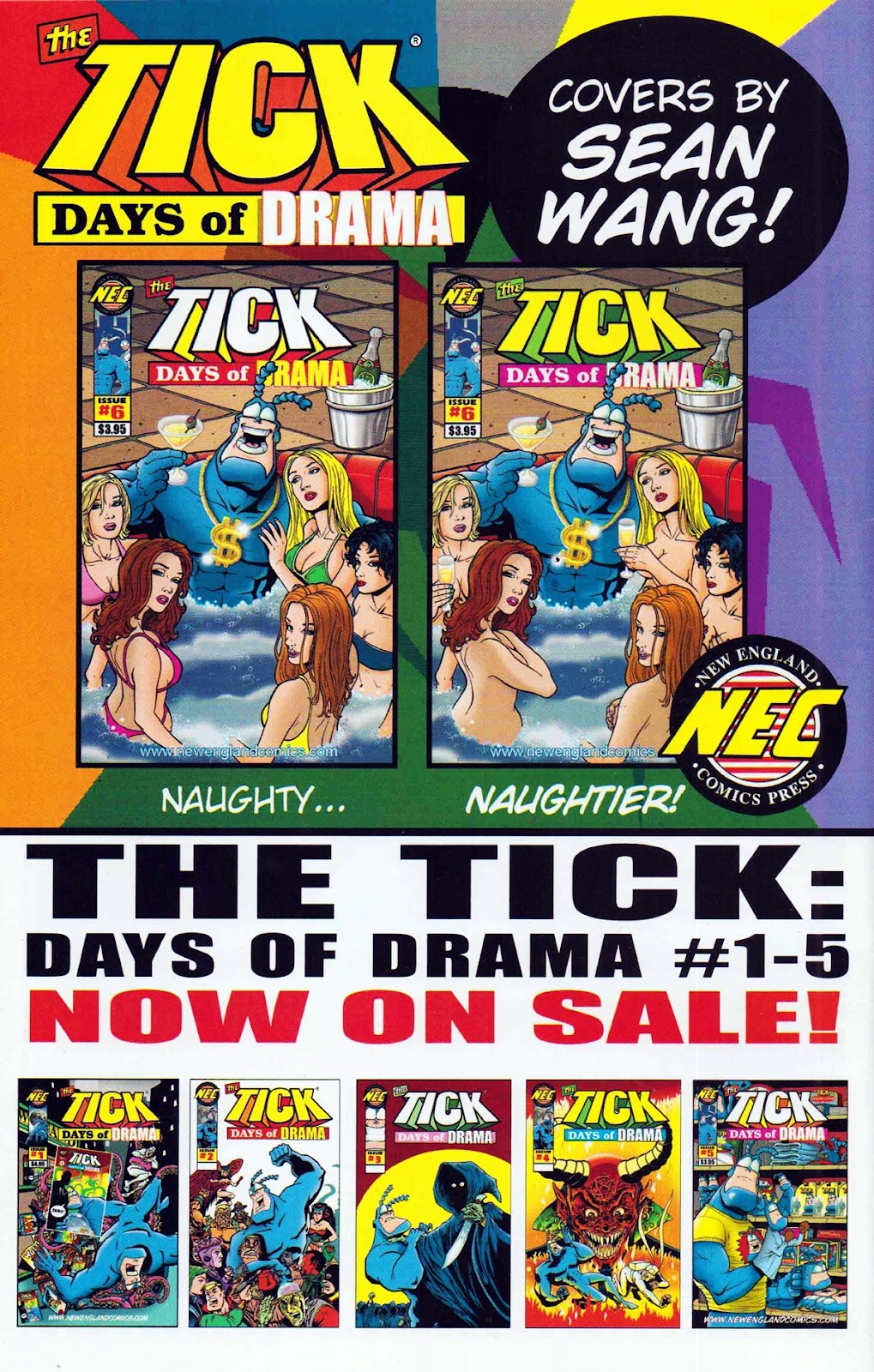 Read online The Tick: Days of Drama comic -  Issue #6 - 36
