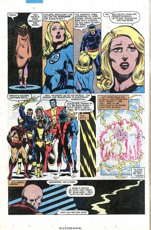 Read online Uncanny X-Men (1963) comic -  Issue # _Annual 5 - 18
