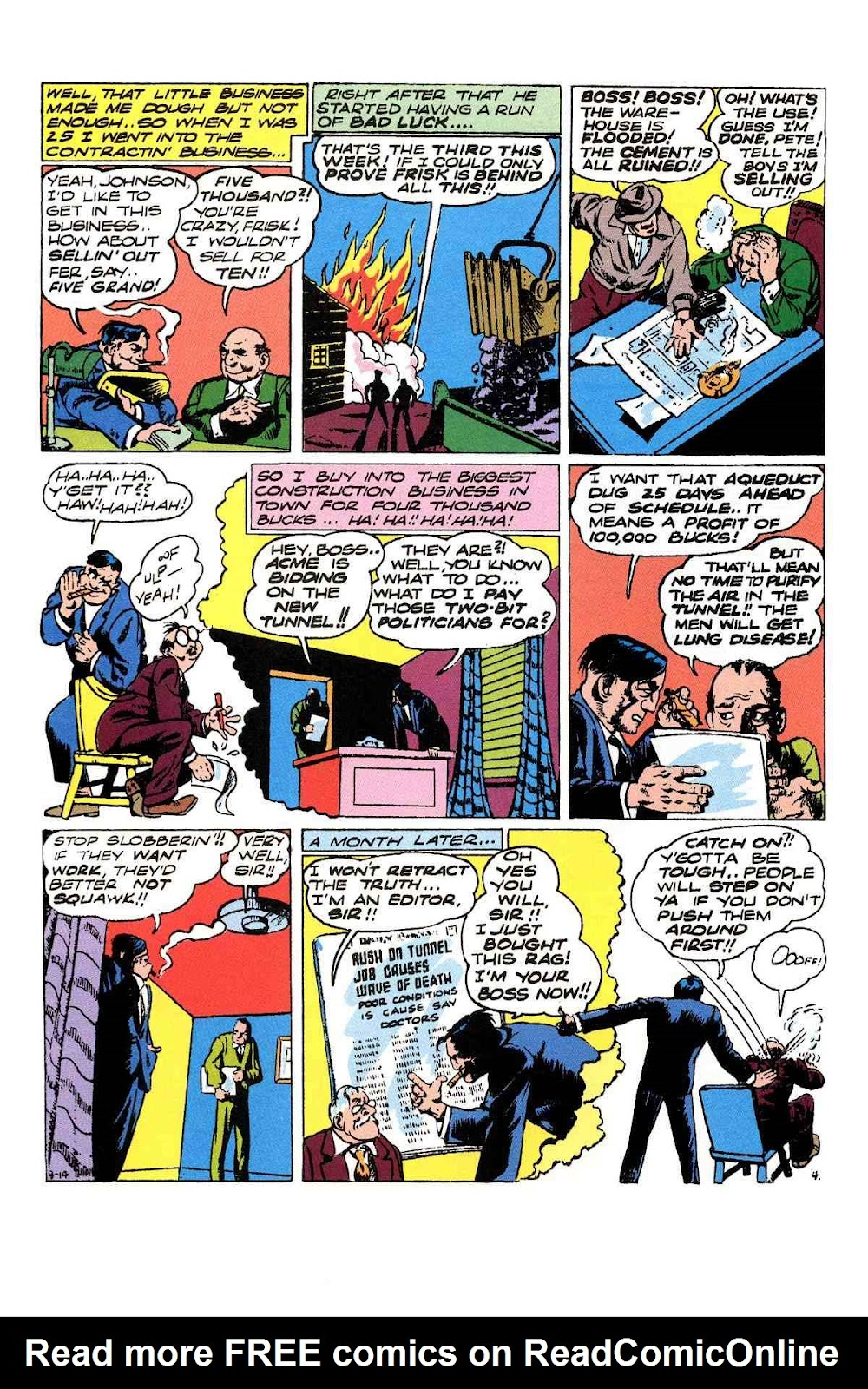 Read online Will Eisner's The Spirit Archives comic -  Issue # TPB 3 (Part 1) - 85