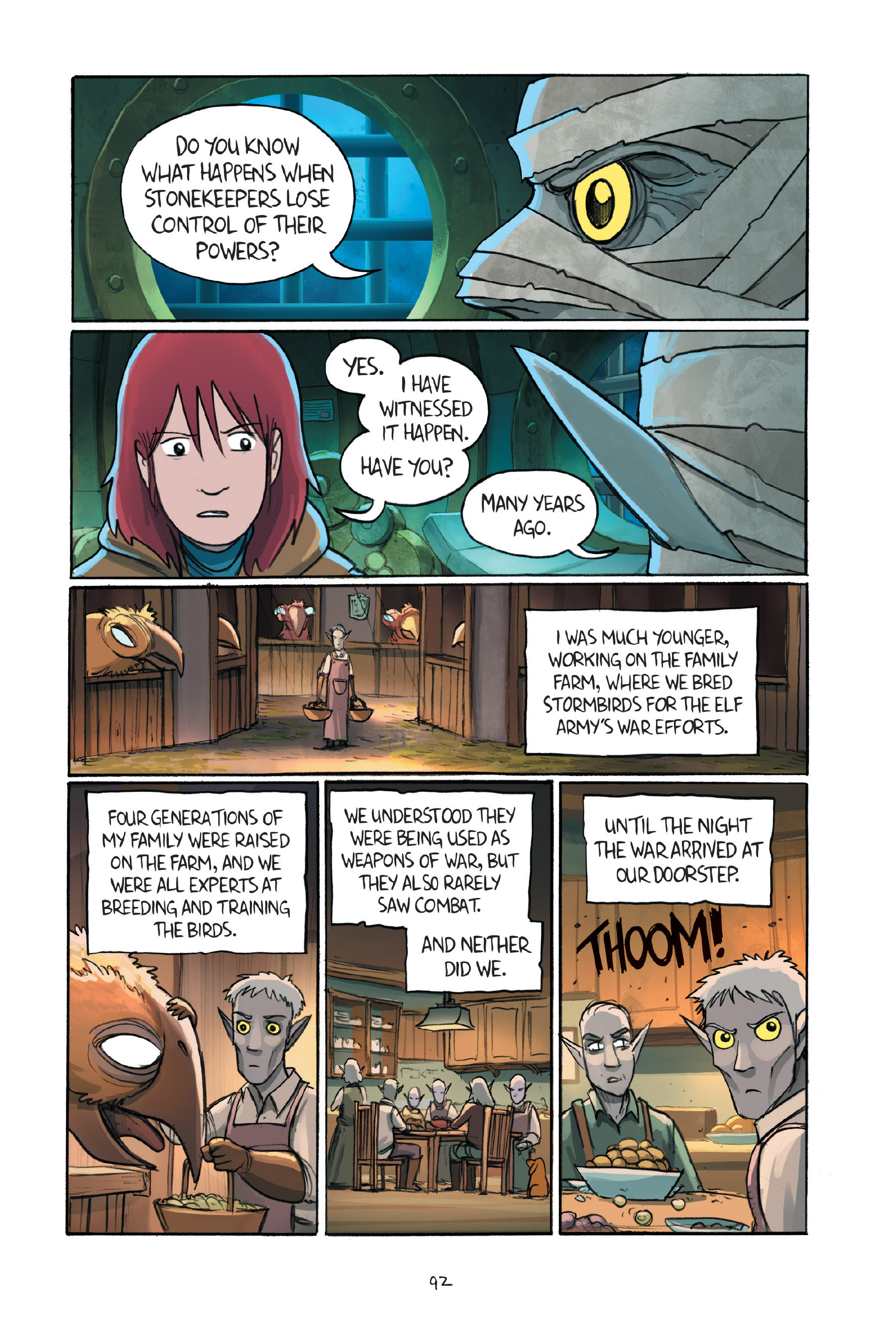 Read online Amulet comic -  Issue #7 - 93