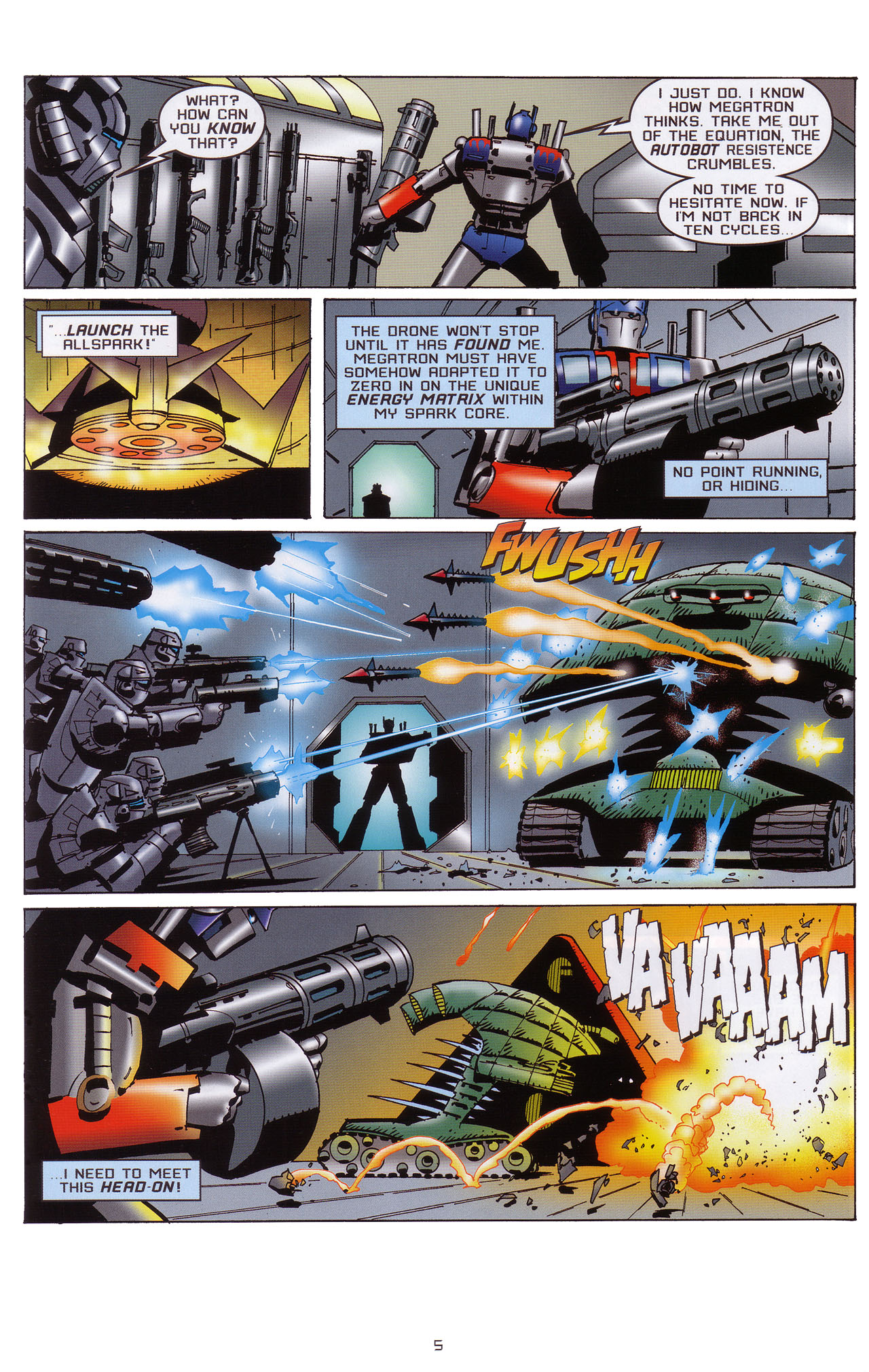 Read online Transformers: Saga of the Allspark comic -  Issue #1 - 6