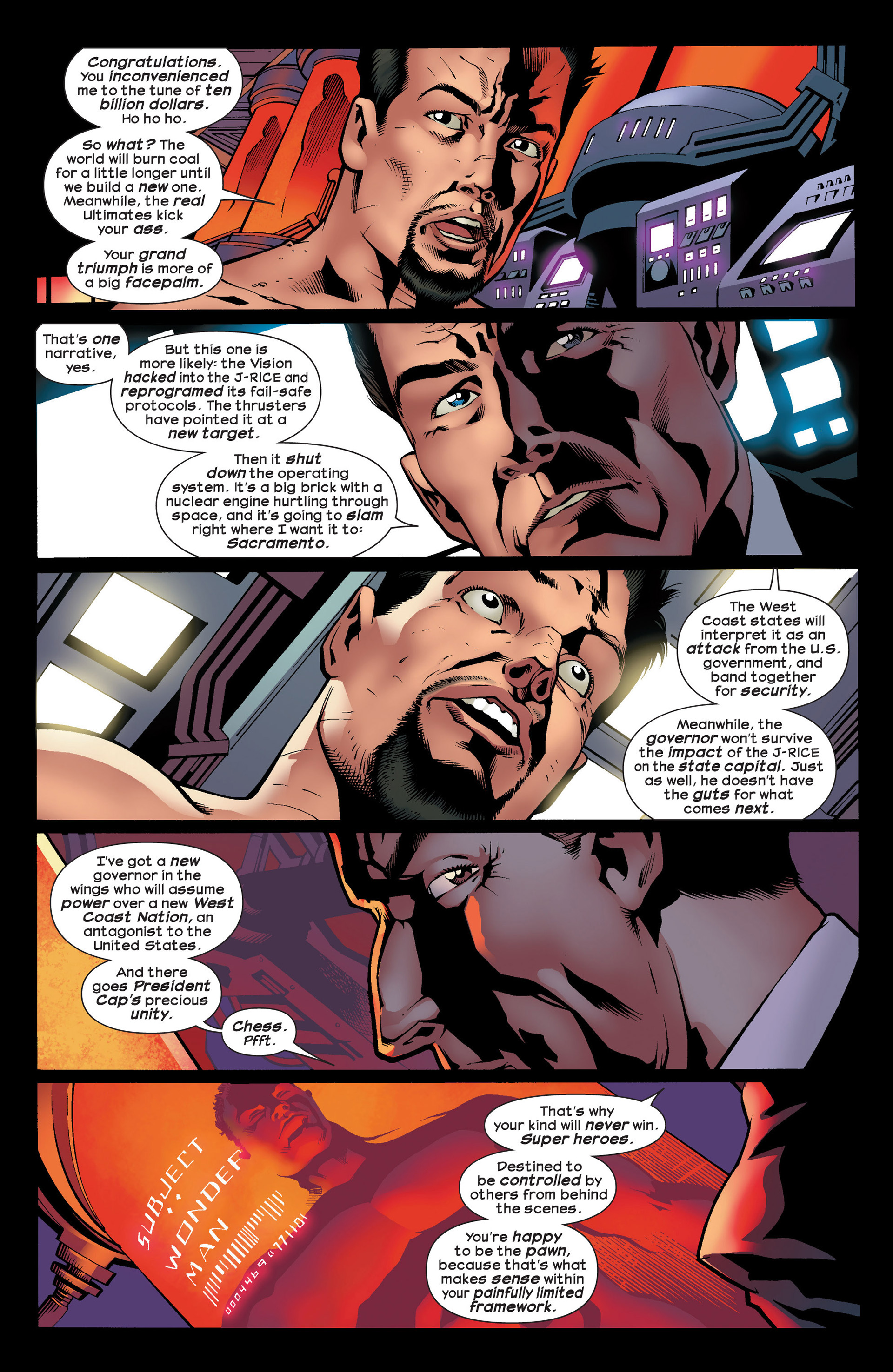 Read online Ultimate Comics Ultimates comic -  Issue #23 - 20