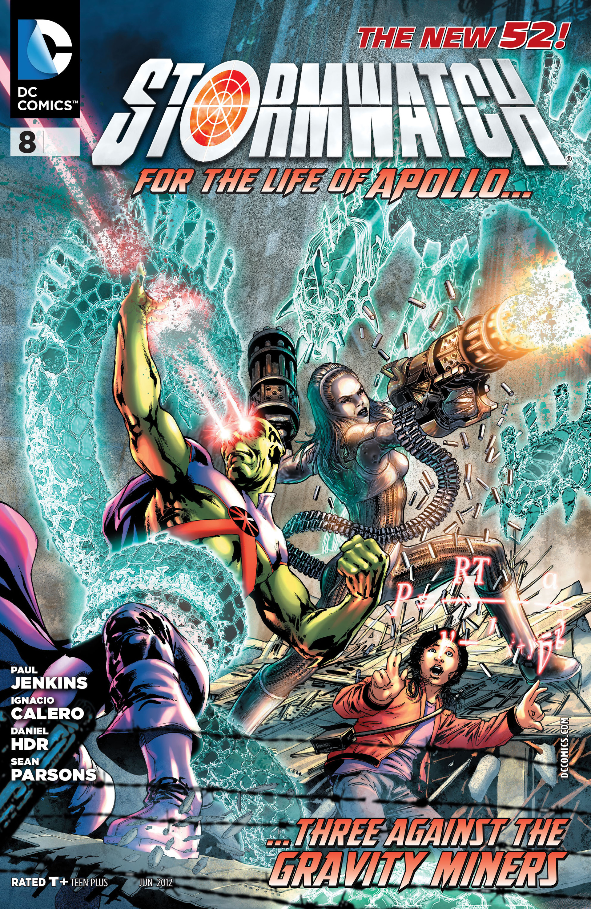 Stormwatch (2011) issue 8 - Page 1