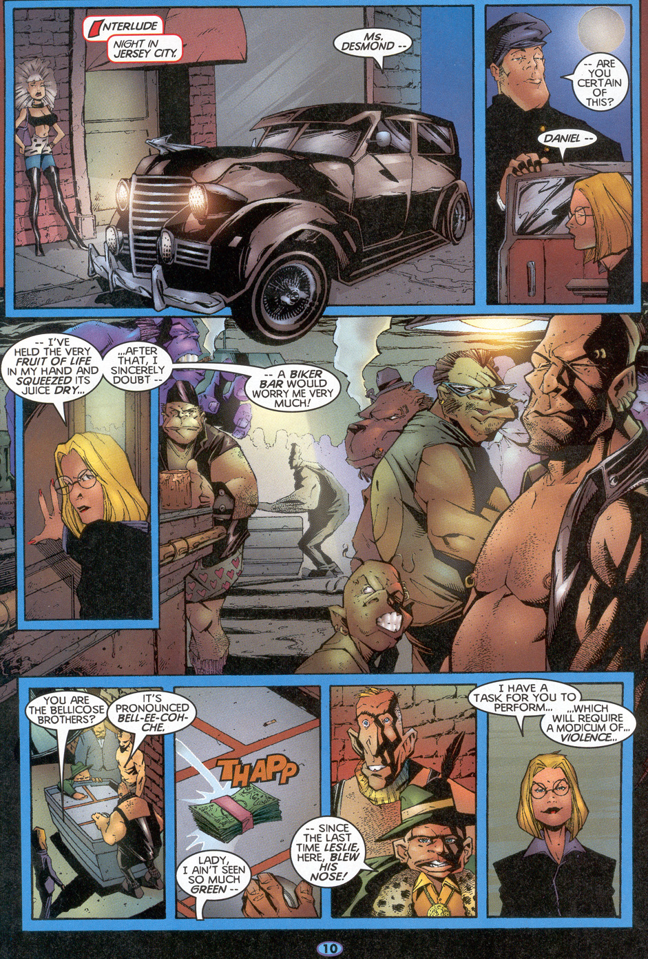 Read online Troublemakers comic -  Issue #4 - 9