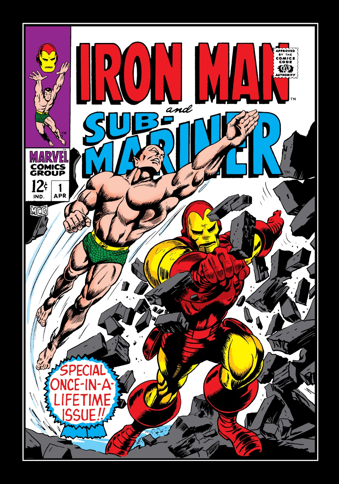 Read online Marvel Masterworks: The Invincible Iron Man comic -  Issue # TPB 4 (Part 3) - 12