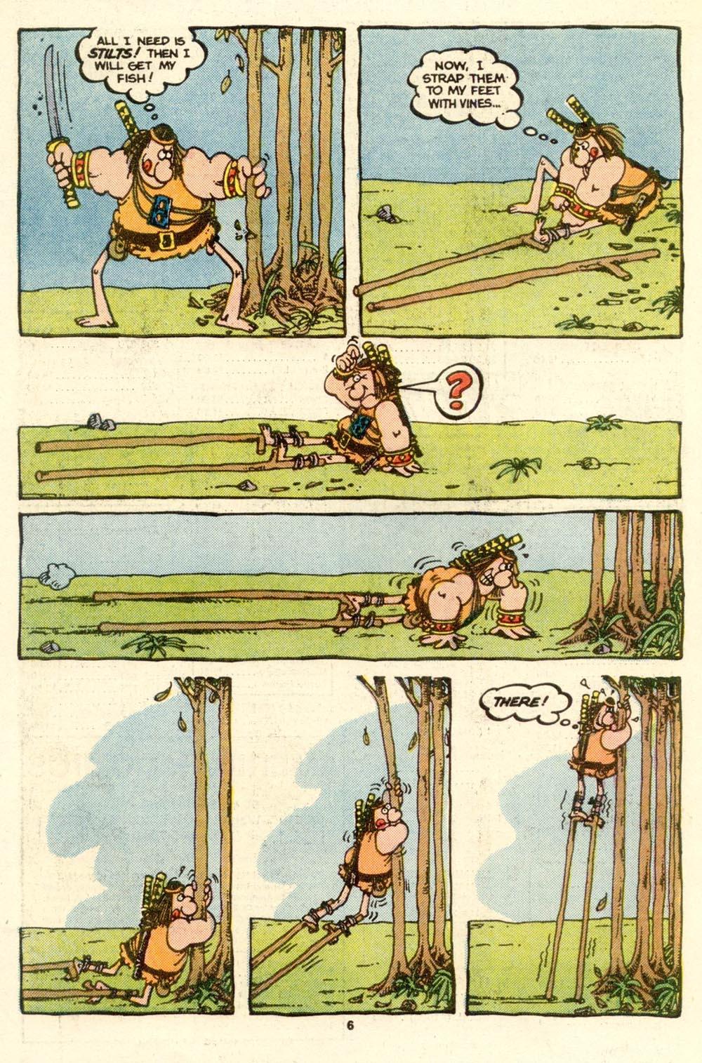 Read online Sergio Aragonés Groo the Wanderer comic -  Issue #17 - 6