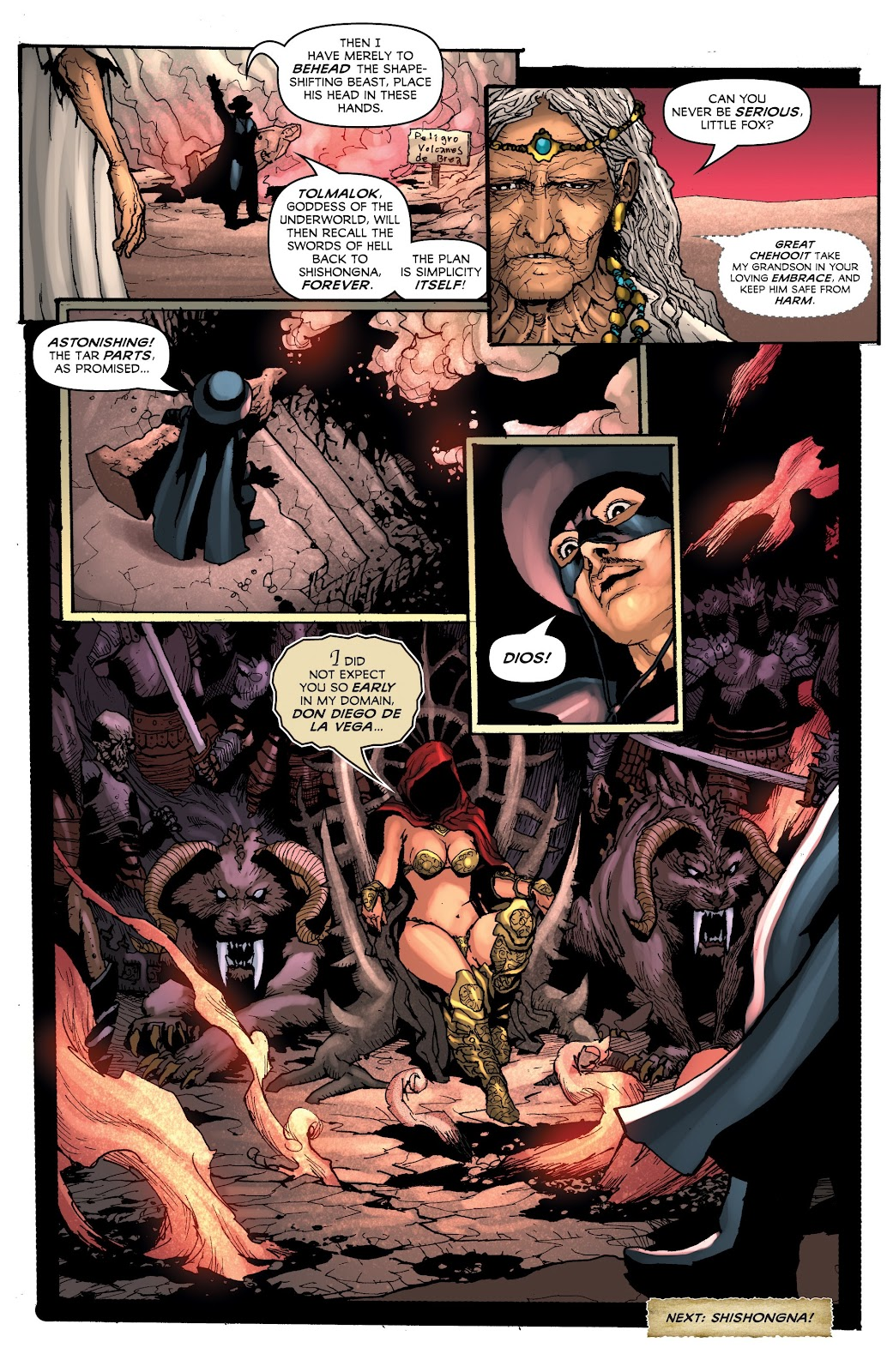 Read online Zorro: Swords of Hell comic -  Issue #3 - 22