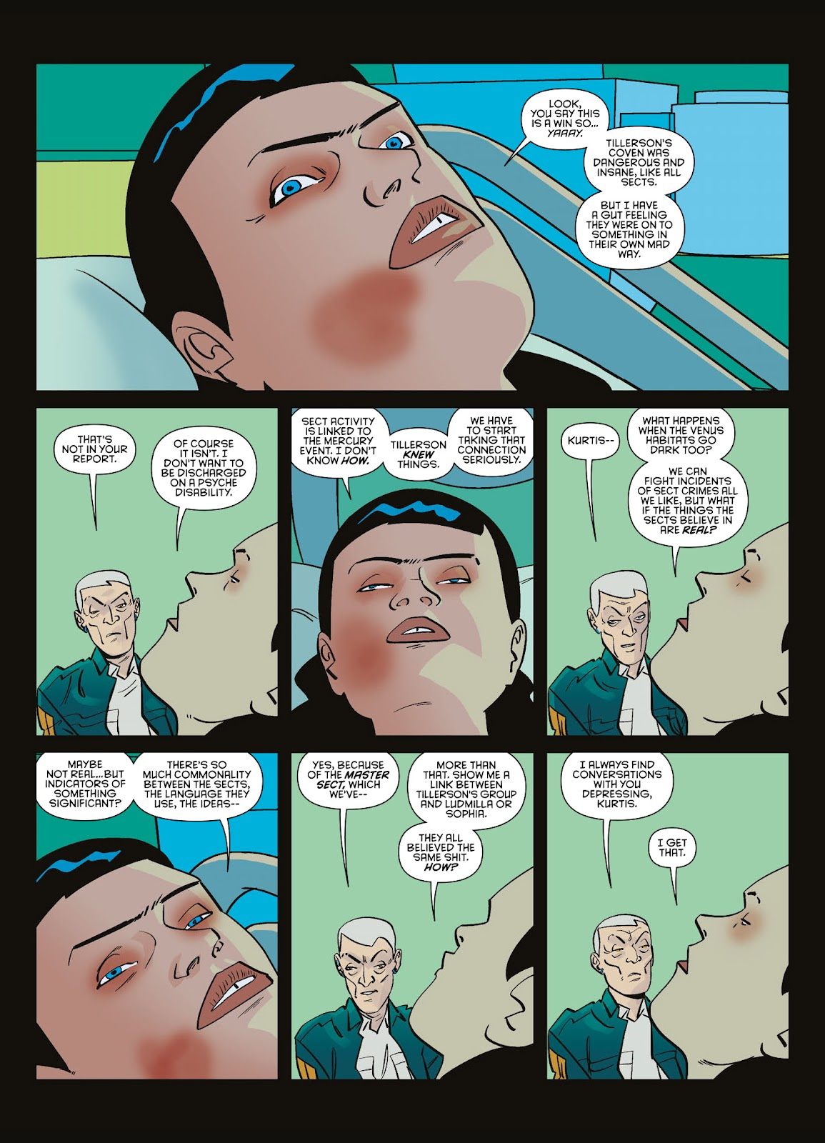 Read online Brink comic -  Issue # TPB 3 - 96