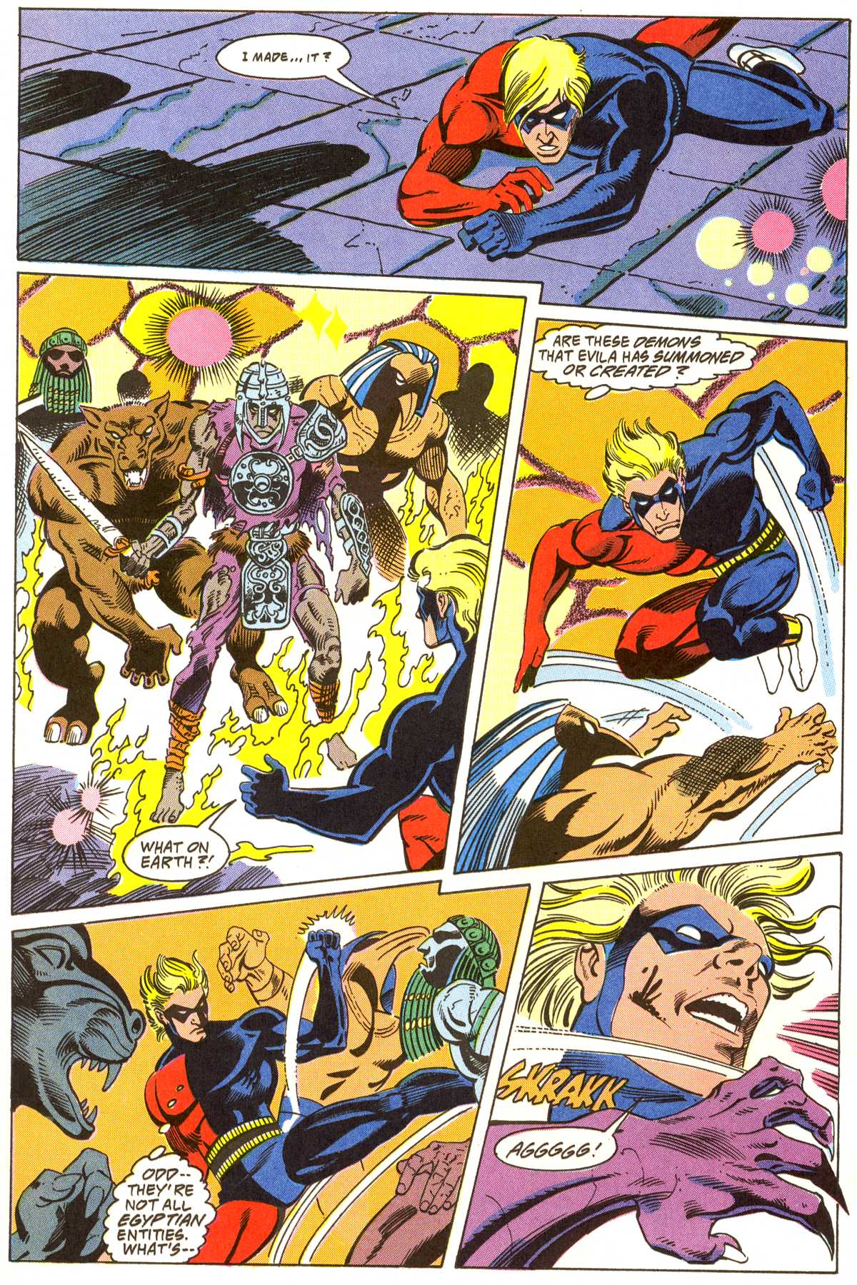 Read online Peter Cannon--Thunderbolt (1992) comic -  Issue #3 - 19
