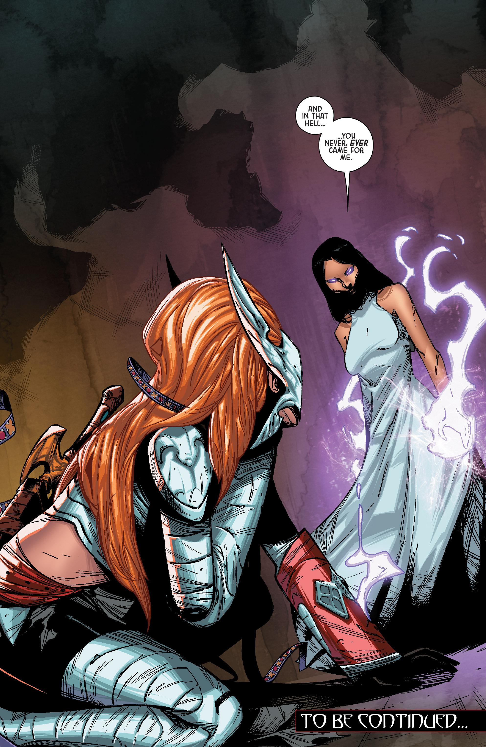 Read online Angela: Queen Of Hel comic -  Issue #1 - 21