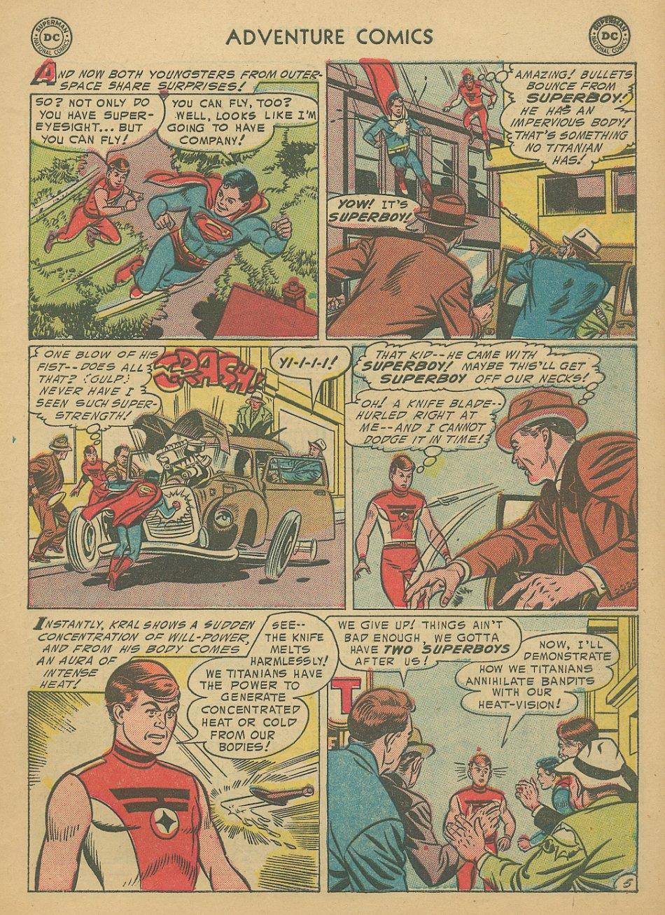 Read online Adventure Comics (1938) comic -  Issue #205 - 8