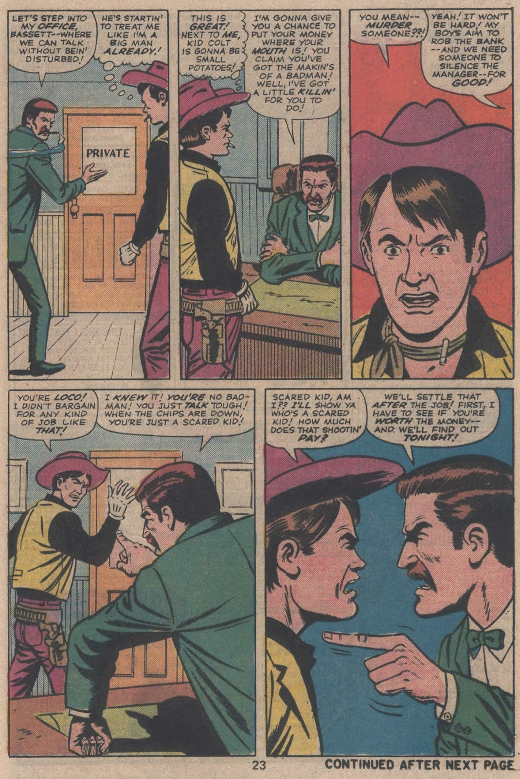 Kid Colt Outlaw issue 195 - Page 25