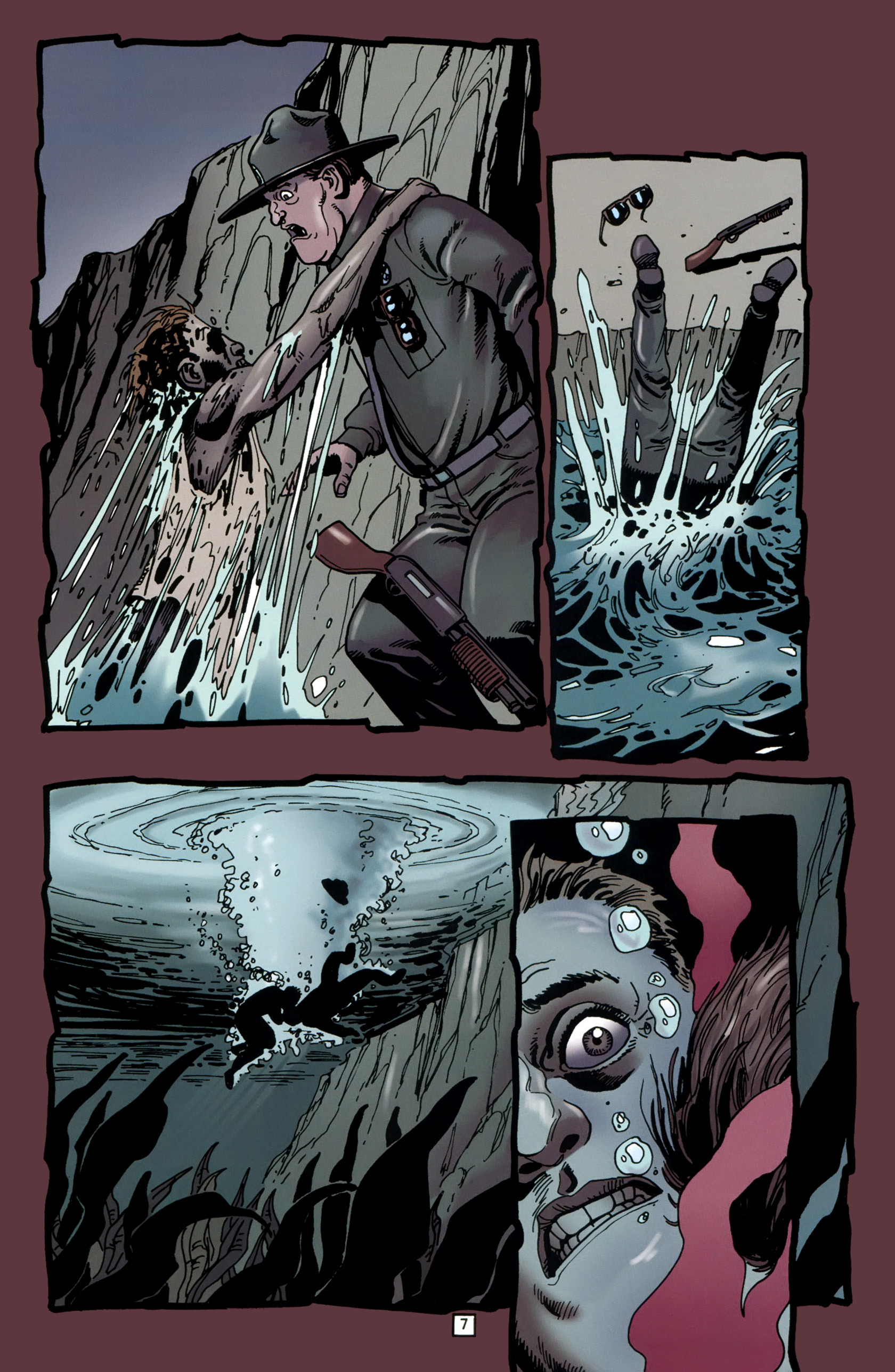 Read online Preacher Special: Cassidy : Blood and Whiskey comic -  Issue # Full - 9