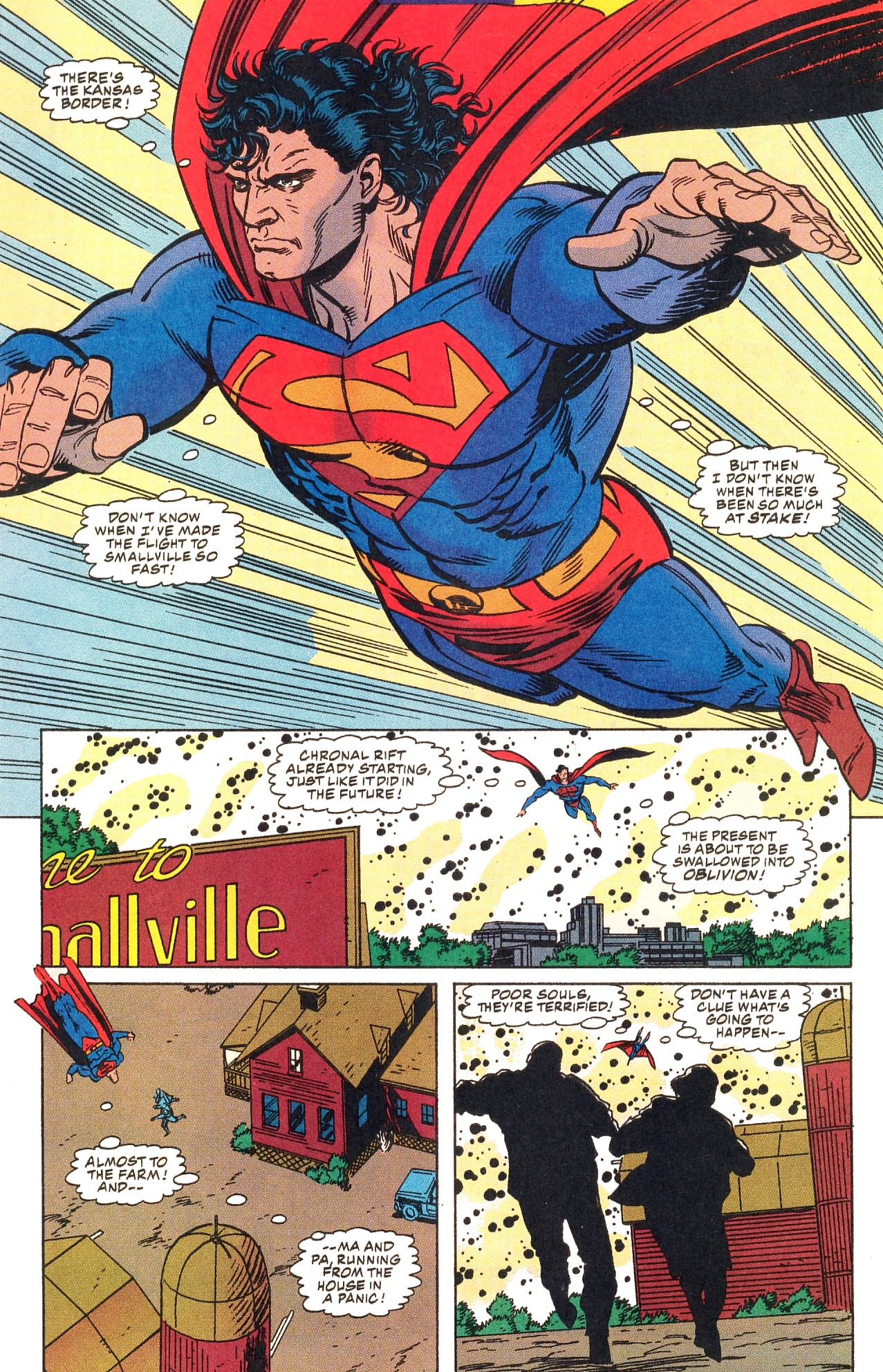 Read online Action Comics (1938) comic -  Issue #703 - 11