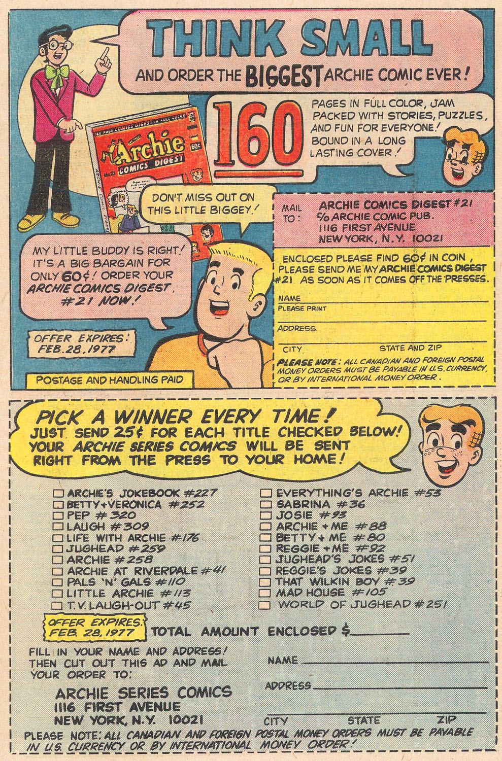 Read online Archie's Girls Betty and Veronica comic -  Issue #251 - 27