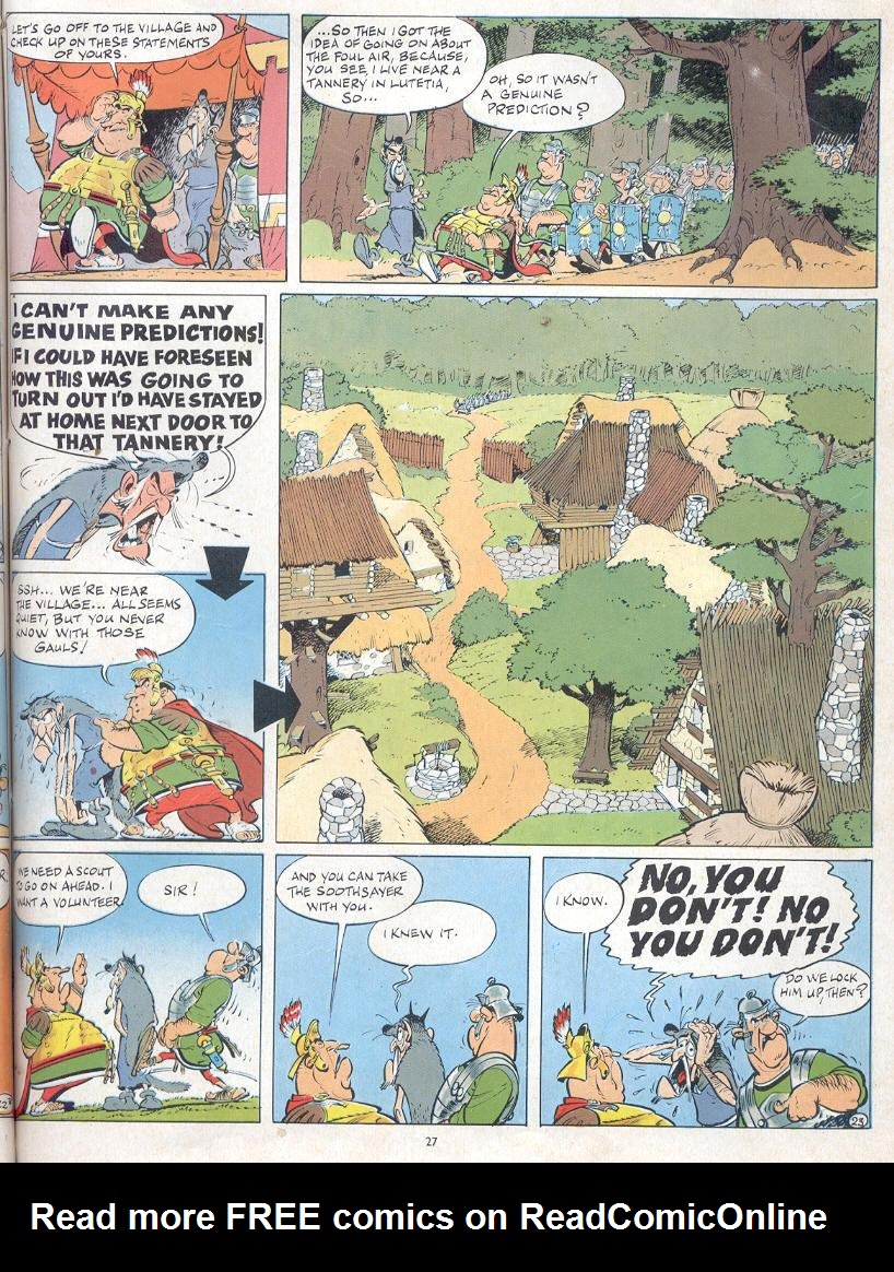 Read online Asterix comic -  Issue #19 - 24