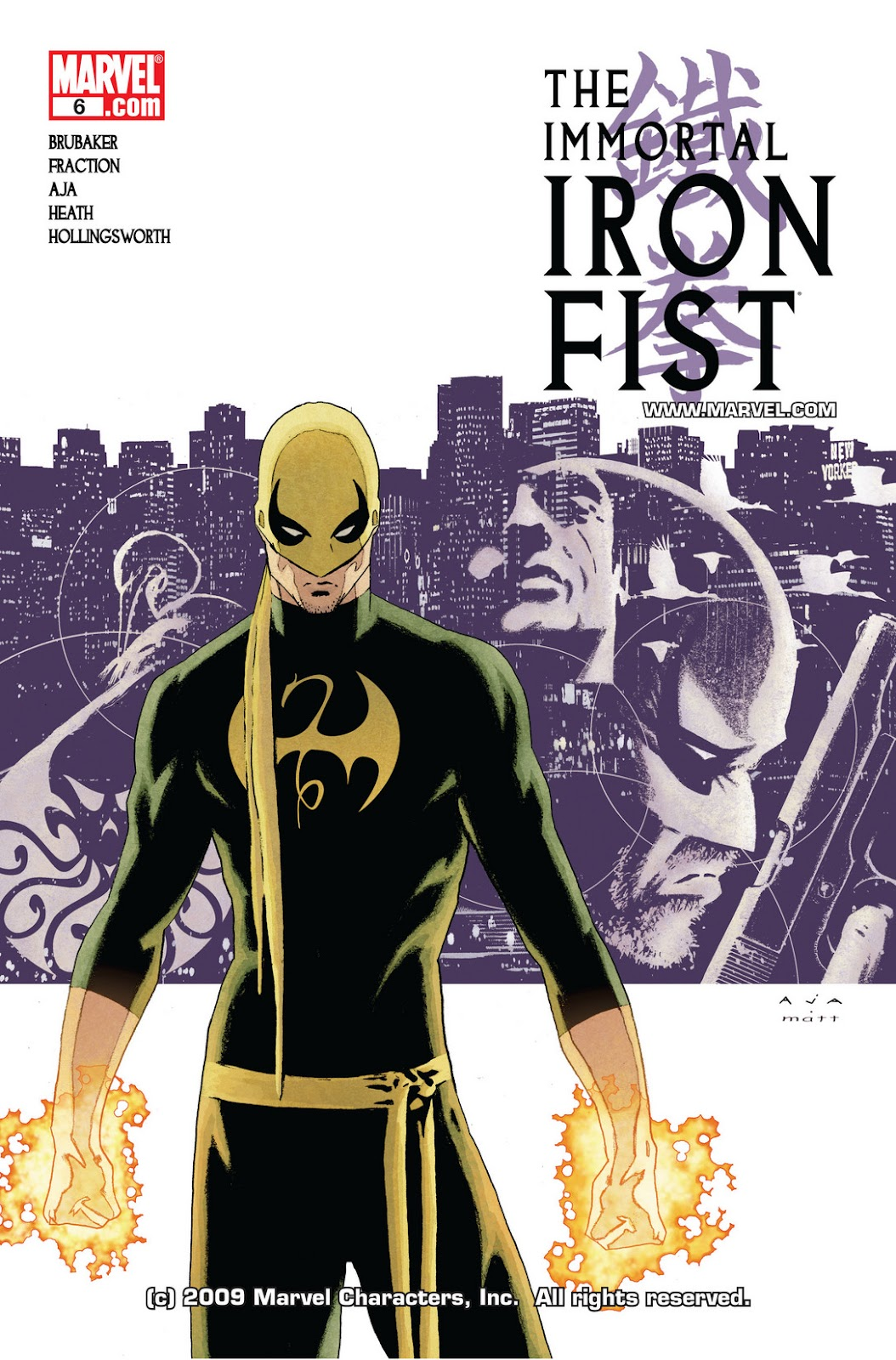 The Immortal Iron Fist issue 6 - Page 1