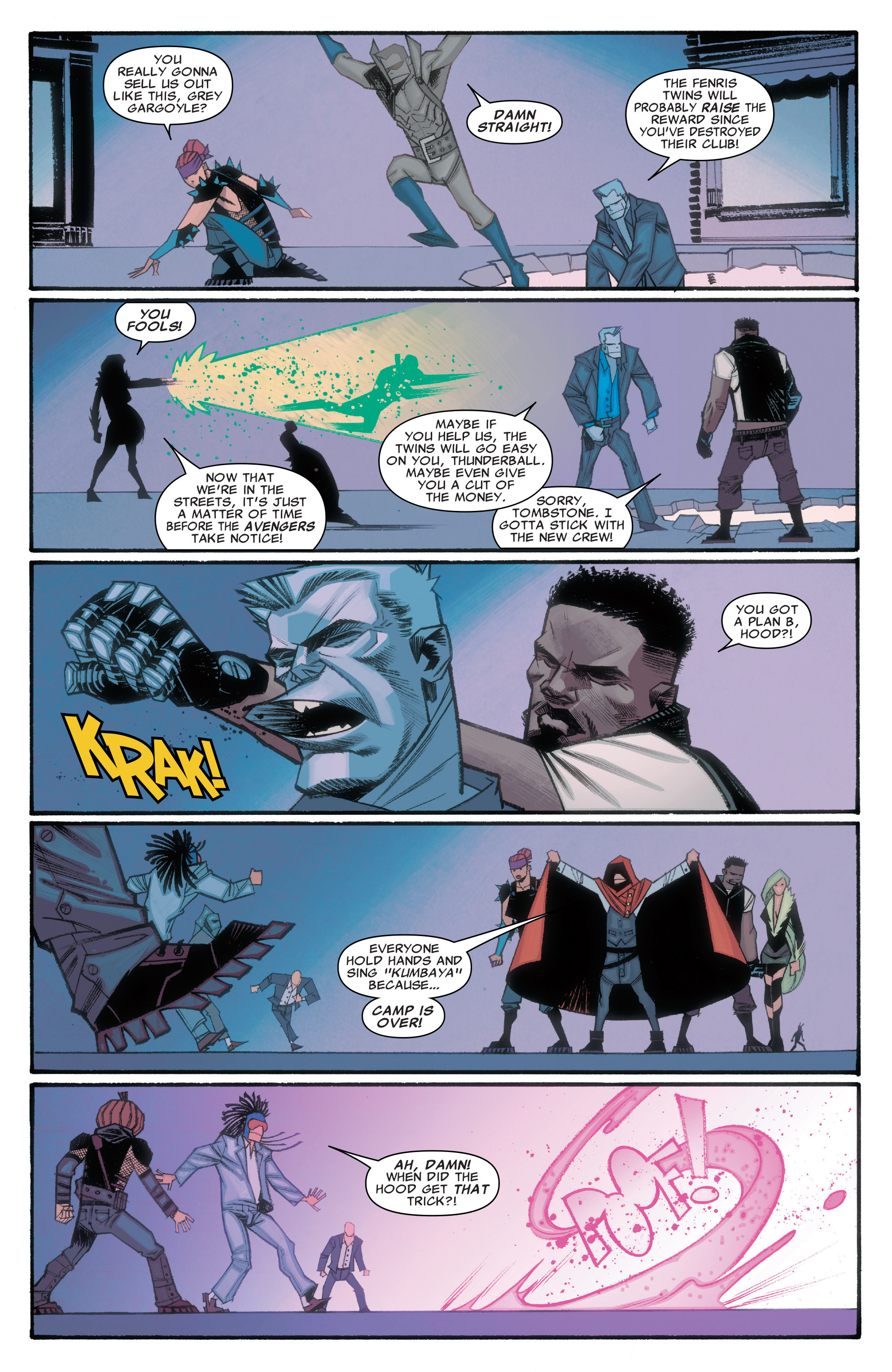 Read online Illuminati comic -  Issue #3 - 6