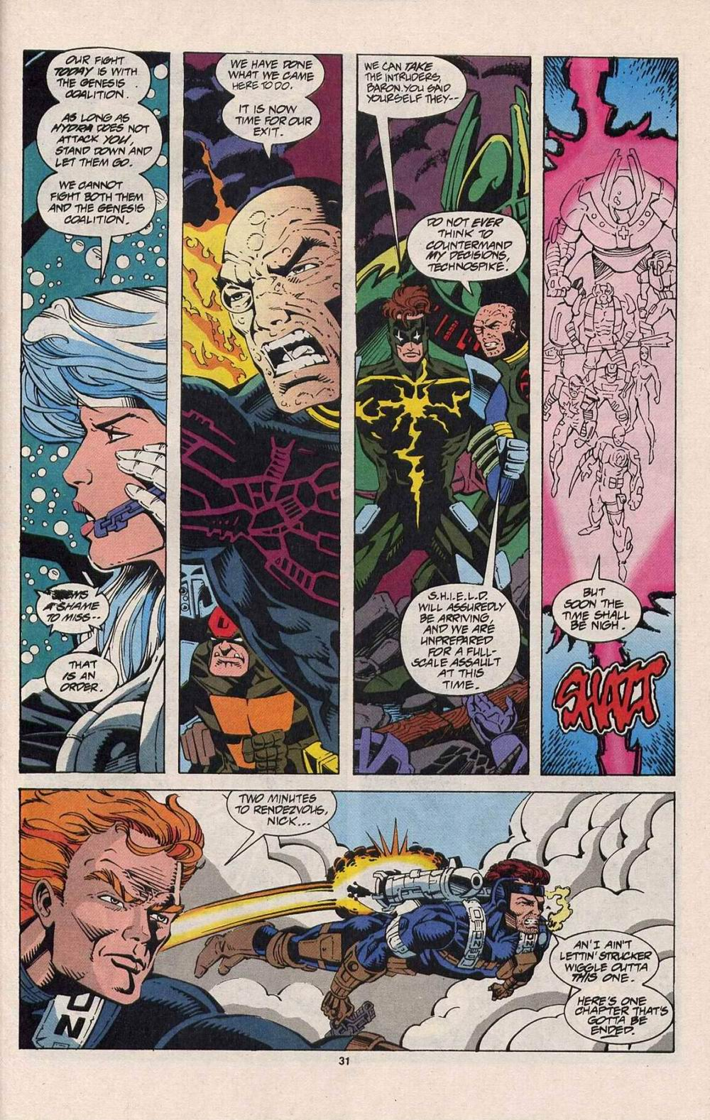 Read online Silver Sable and the Wild Pack comic -  Issue #25 - 24