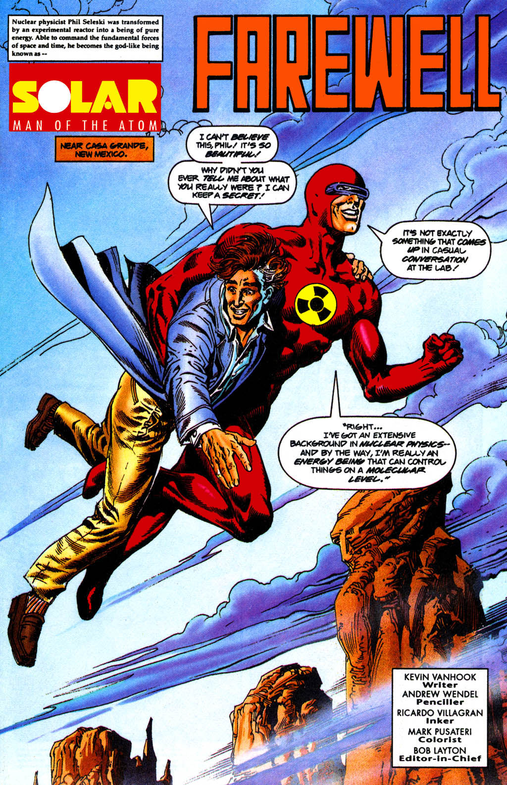 Read online Solar, Man of the Atom comic -  Issue #41 - 2