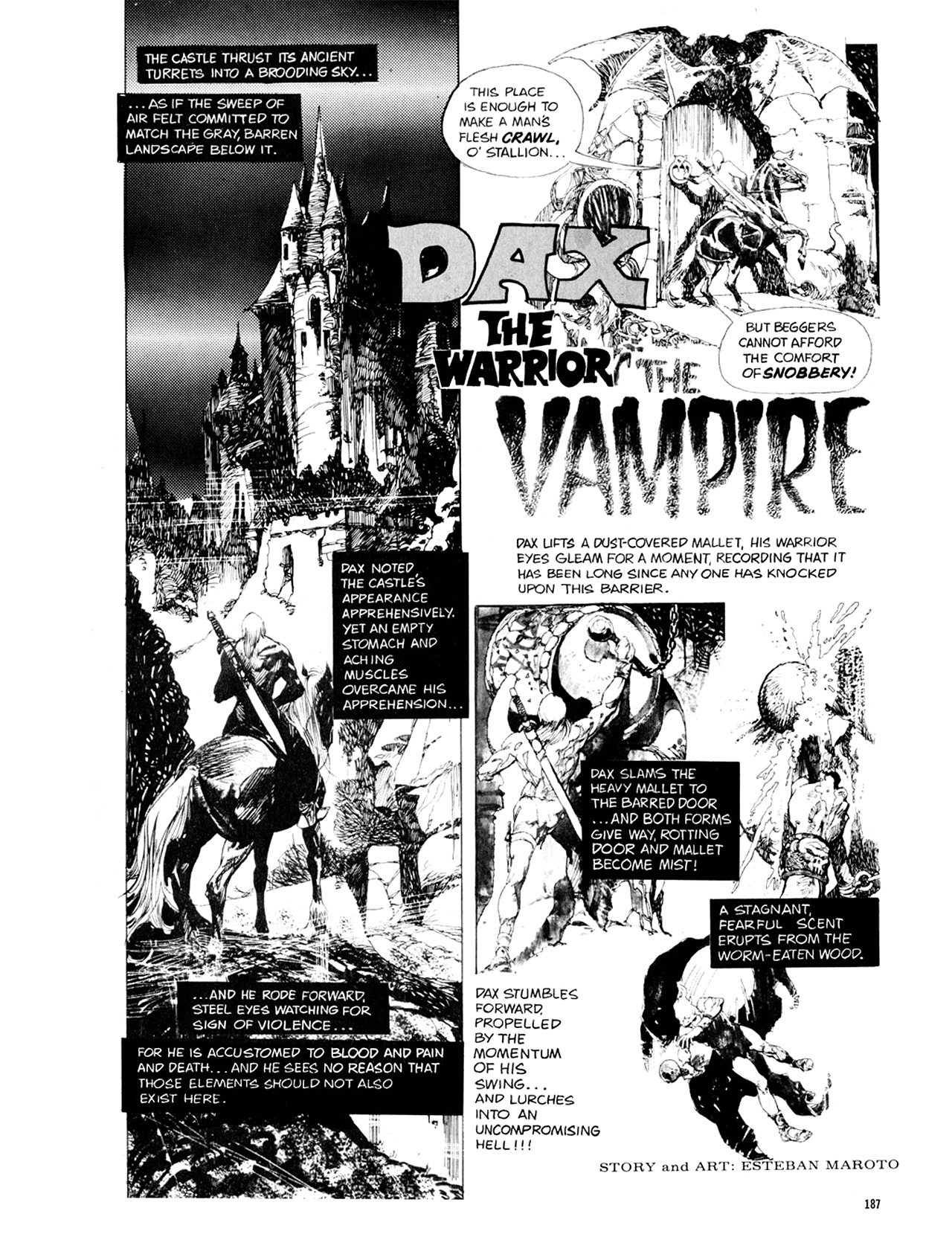 Read online Eerie Archives comic -  Issue # TPB 10 - 188