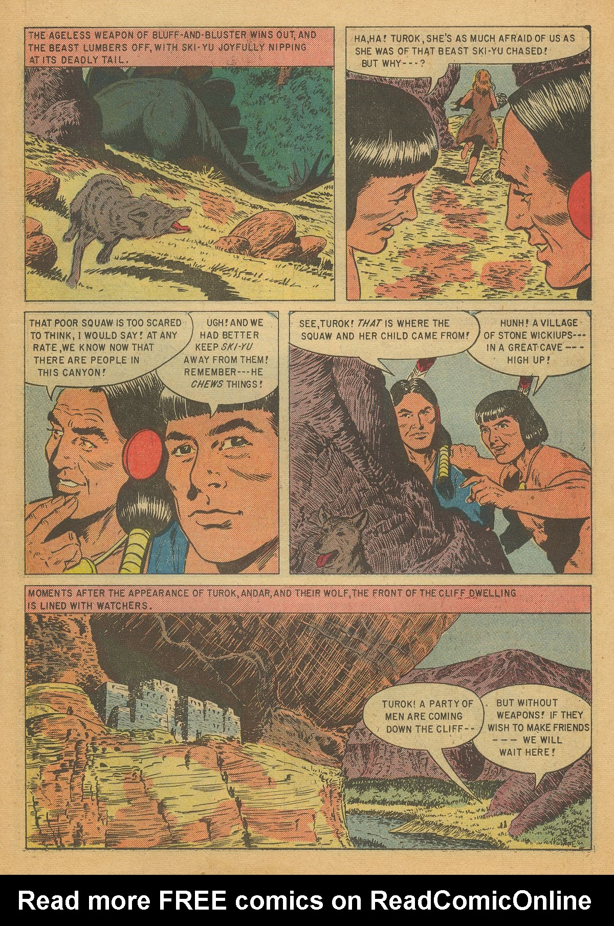 Read online Turok, Son of Stone comic -  Issue #7 - 15