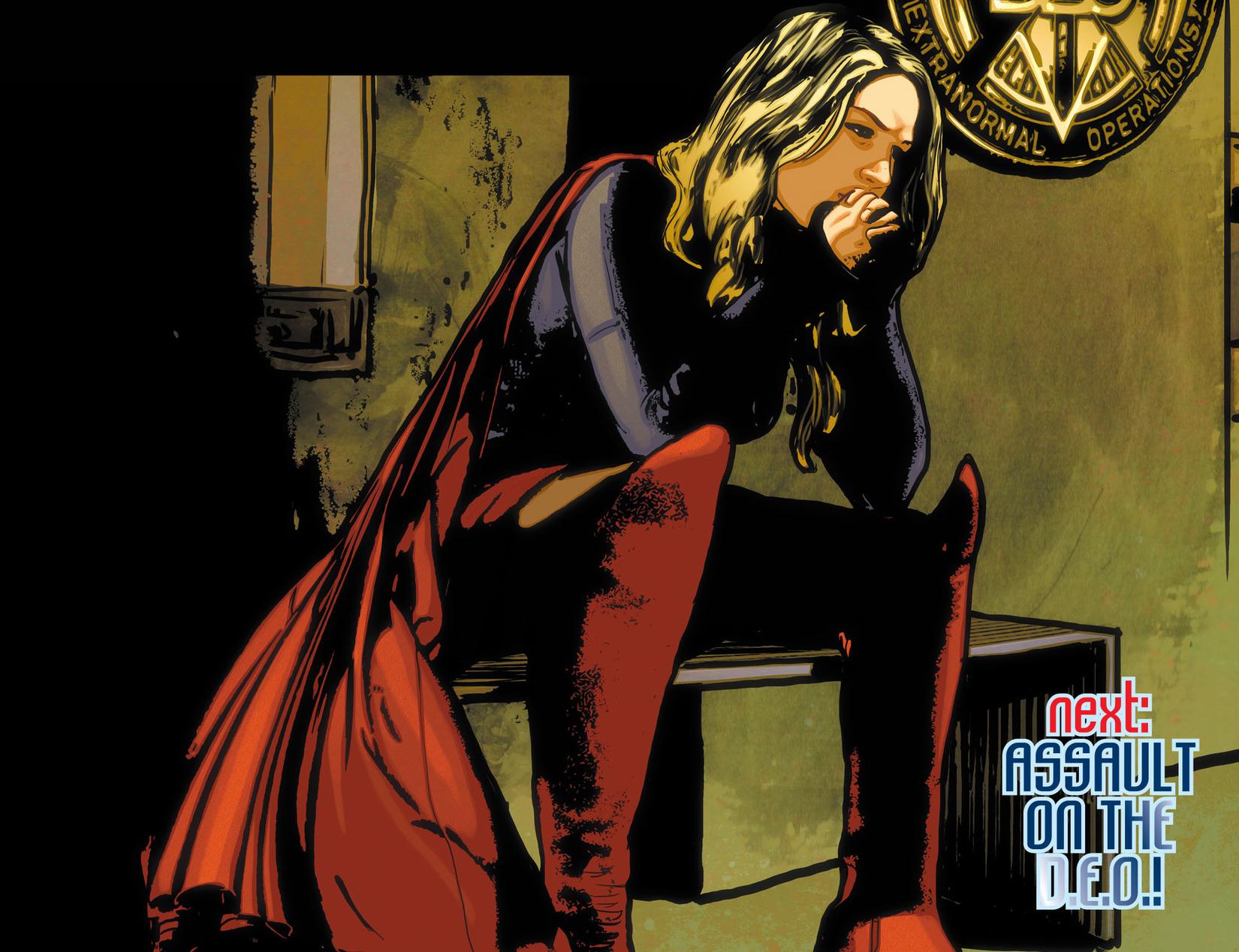 Read online Adventures of Supergirl comic -  Issue #10 - 22