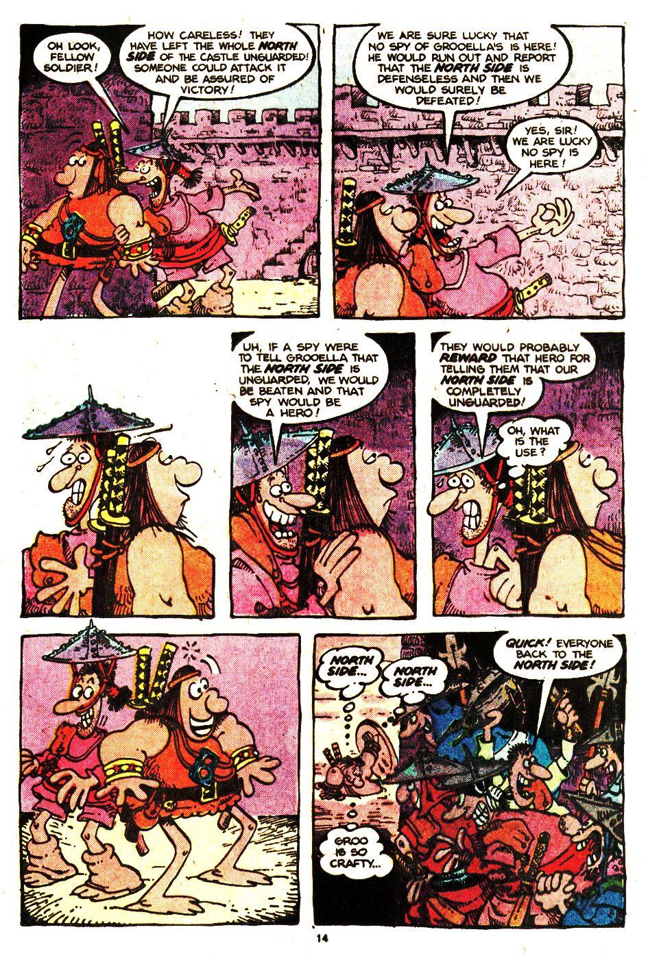Read online Sergio Aragonés Groo the Wanderer comic -  Issue #20 - 14